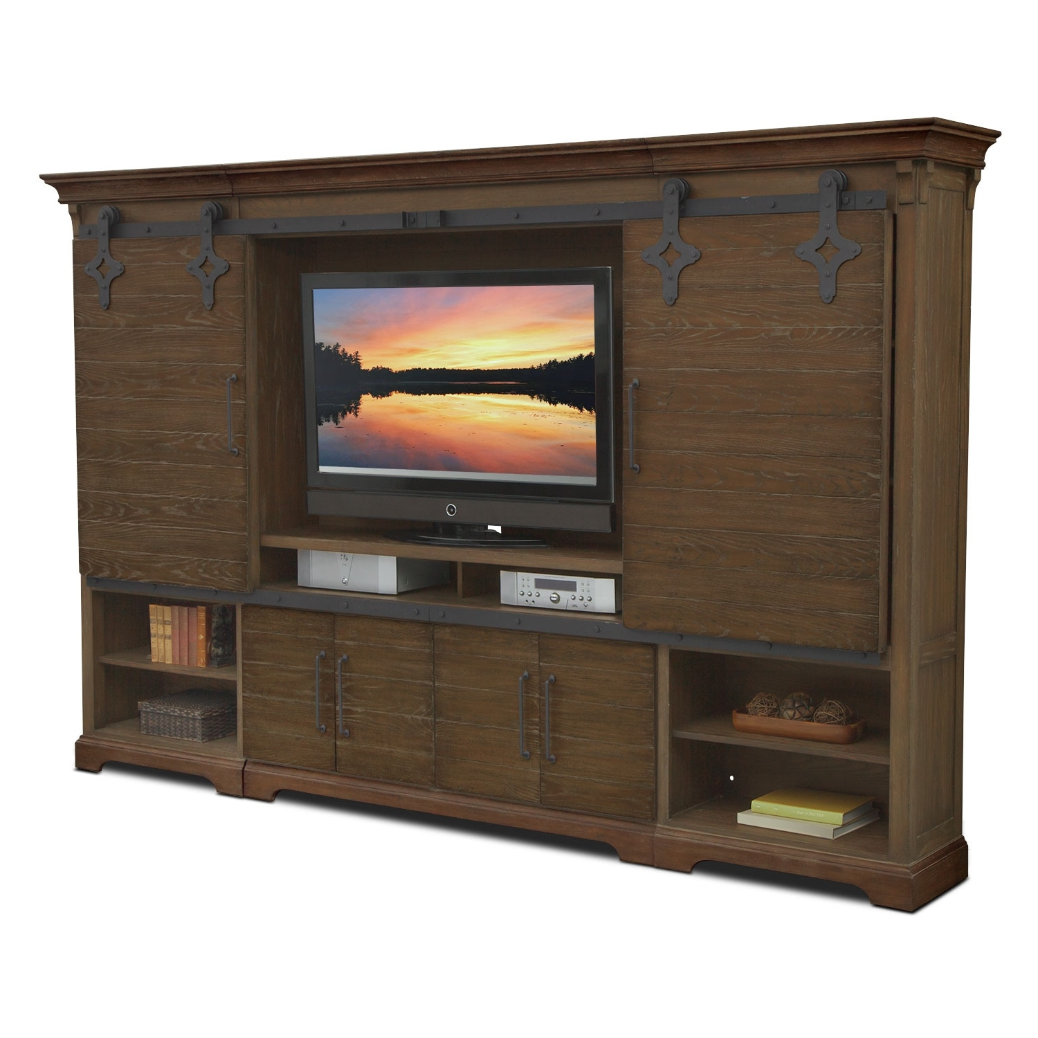 Value City Within Most Popular Preston 66 Inch Tv Stands (View 9 of 20)