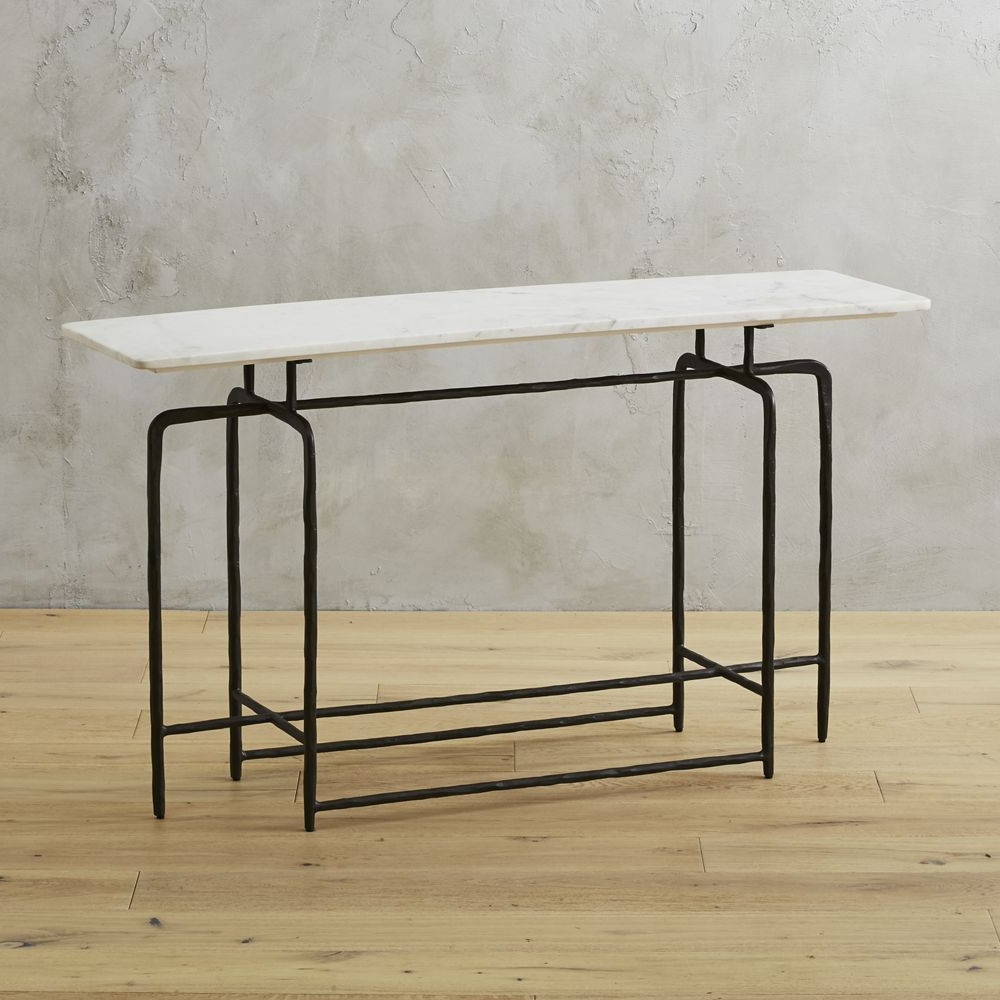 Ventana Display Console Tables For Most Recent Sophia Marble Console Table (View 18 of 20)