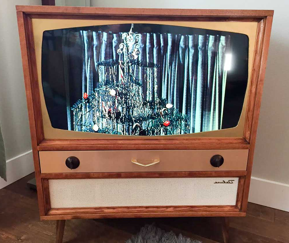 Vintage Style Tv Cabinets Regarding Best And Newest Jeff Builds A Midcentury Modern Tv Cabinet For His Flat Screen Tv (Gallery 16 of 20)
