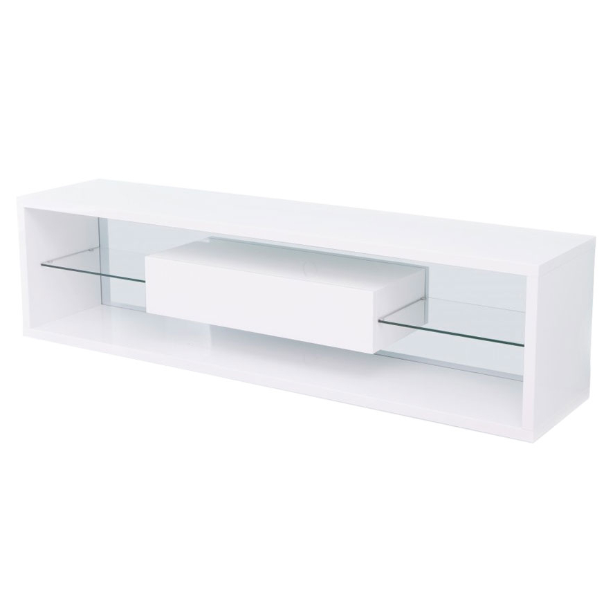 Viviani White Tv Stand (Gallery 13 of 20)