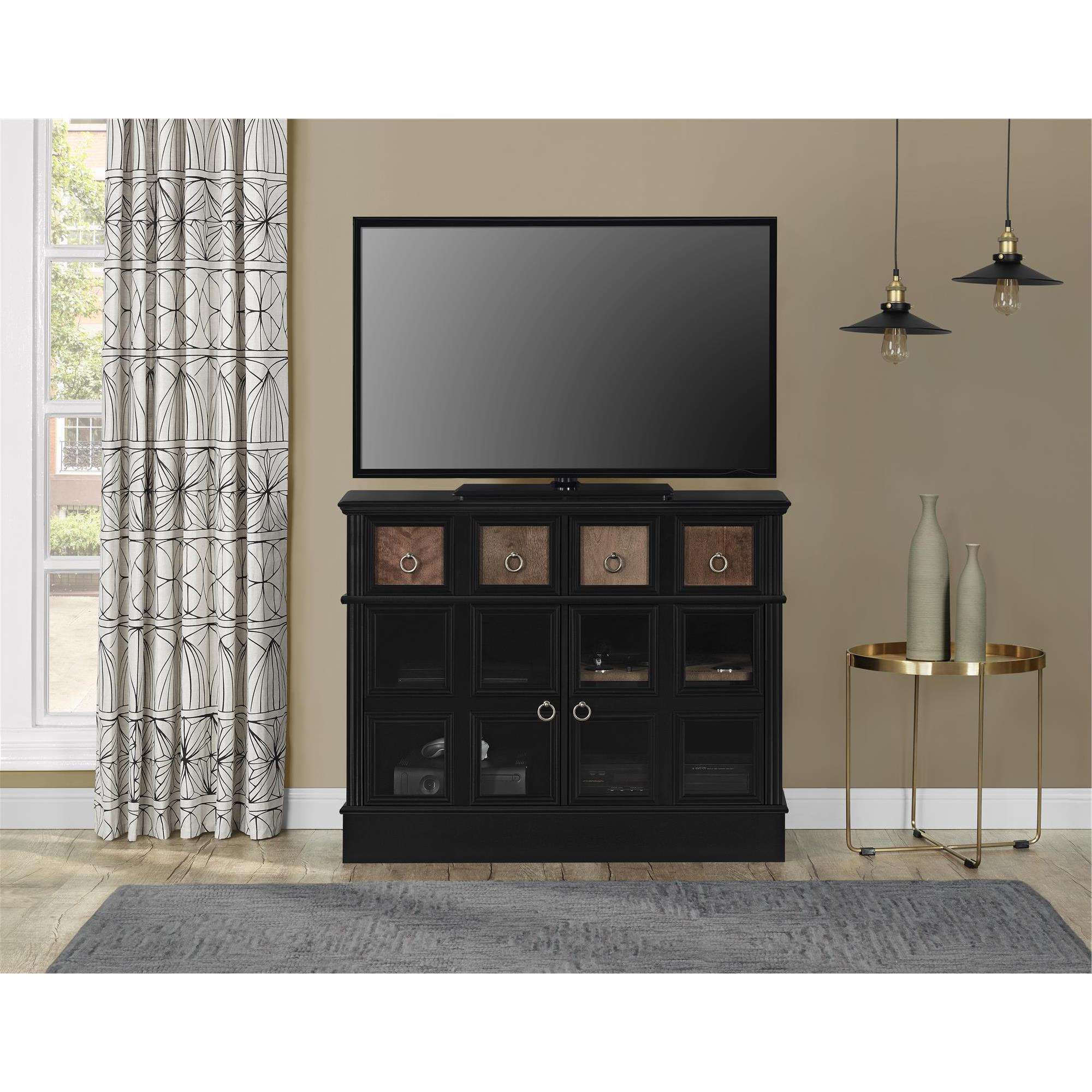 Wakefield 97 Inch Tv Stands Throughout 2018 Shop Avenue Greene Wakefield Apothecary 42 Inch Black Tv Console (View 16 of 20)