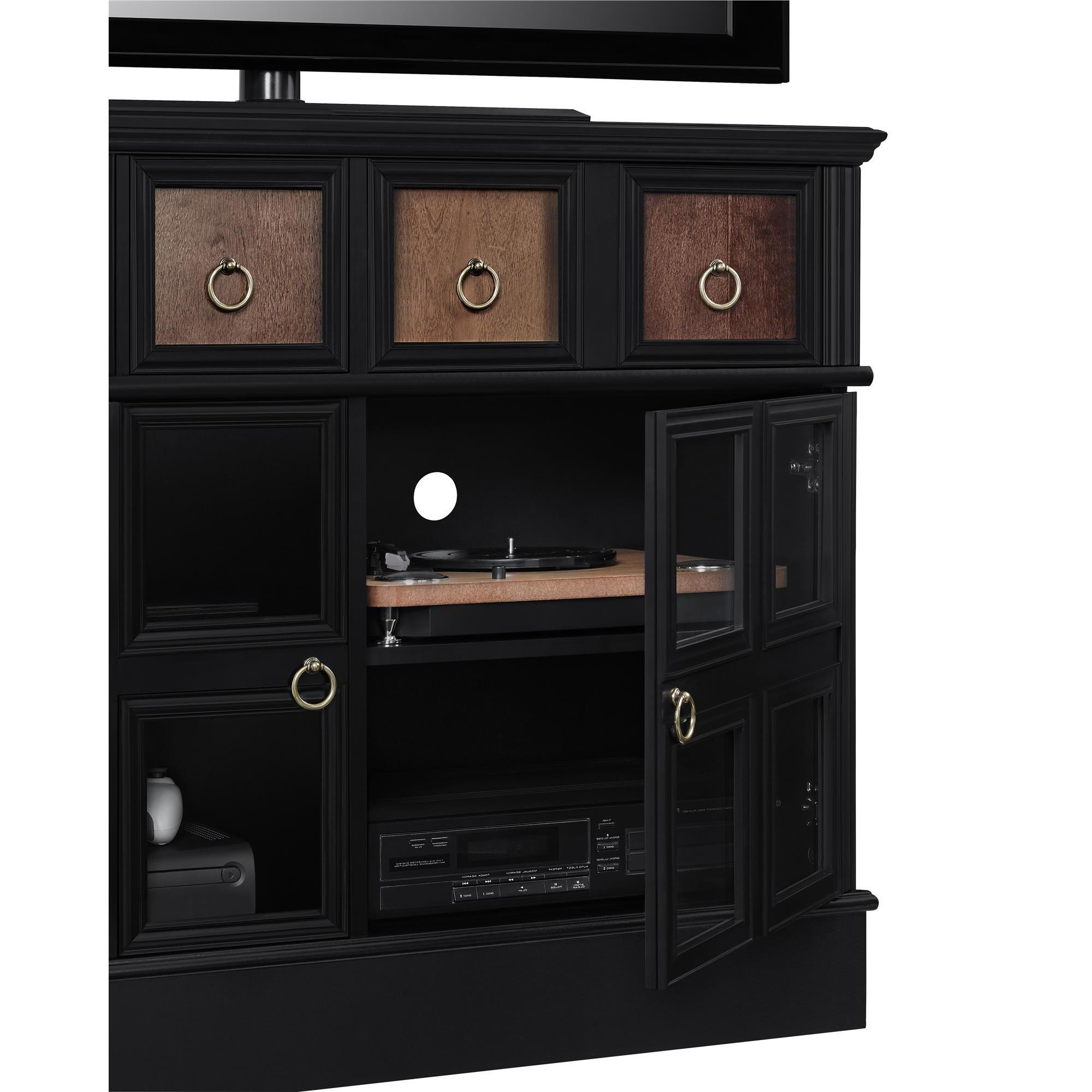 Wakefield 97 Inch Tv Stands With Regard To Favorite Shop Avenue Greene Wakefield Apothecary 42 Inch Black Tv Console (View 19 of 20)