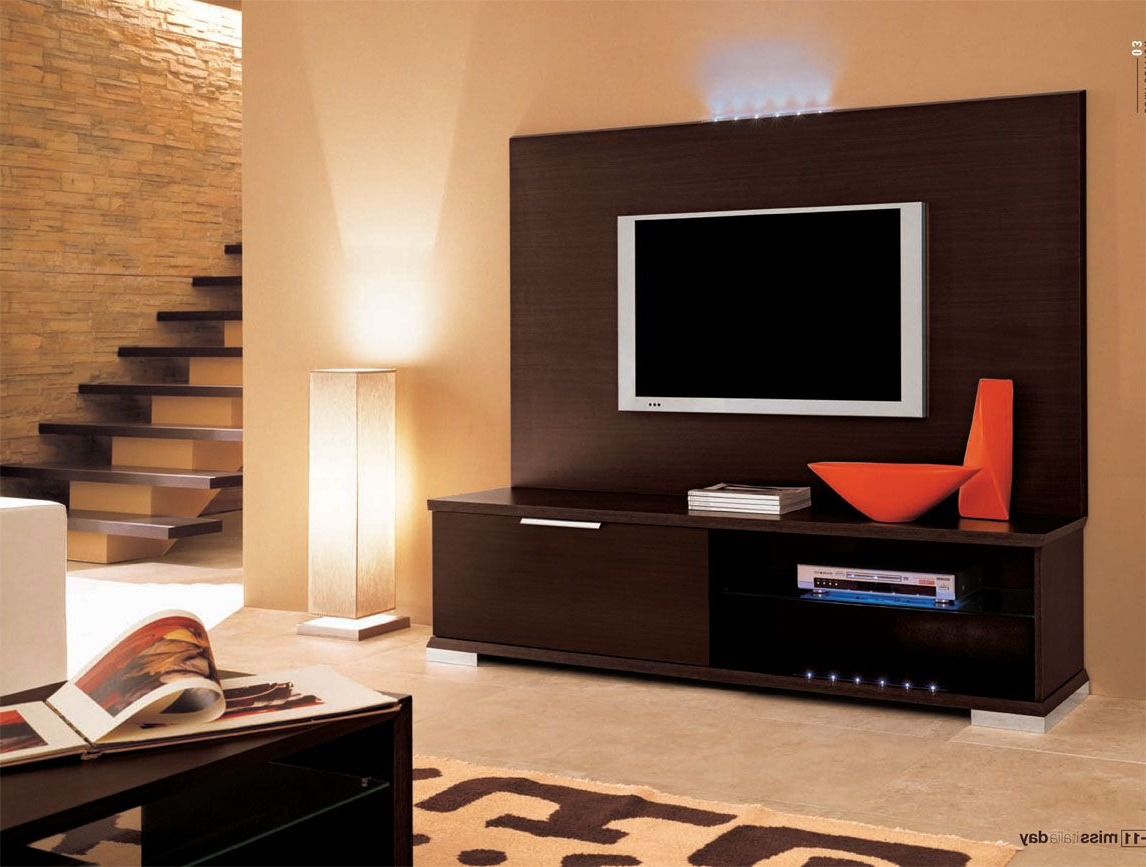 Wall Display Units And Tv Cabinets Within Favorite Images Of Wall Mounted Tv With Built In Cabinets (View 17 of 20)