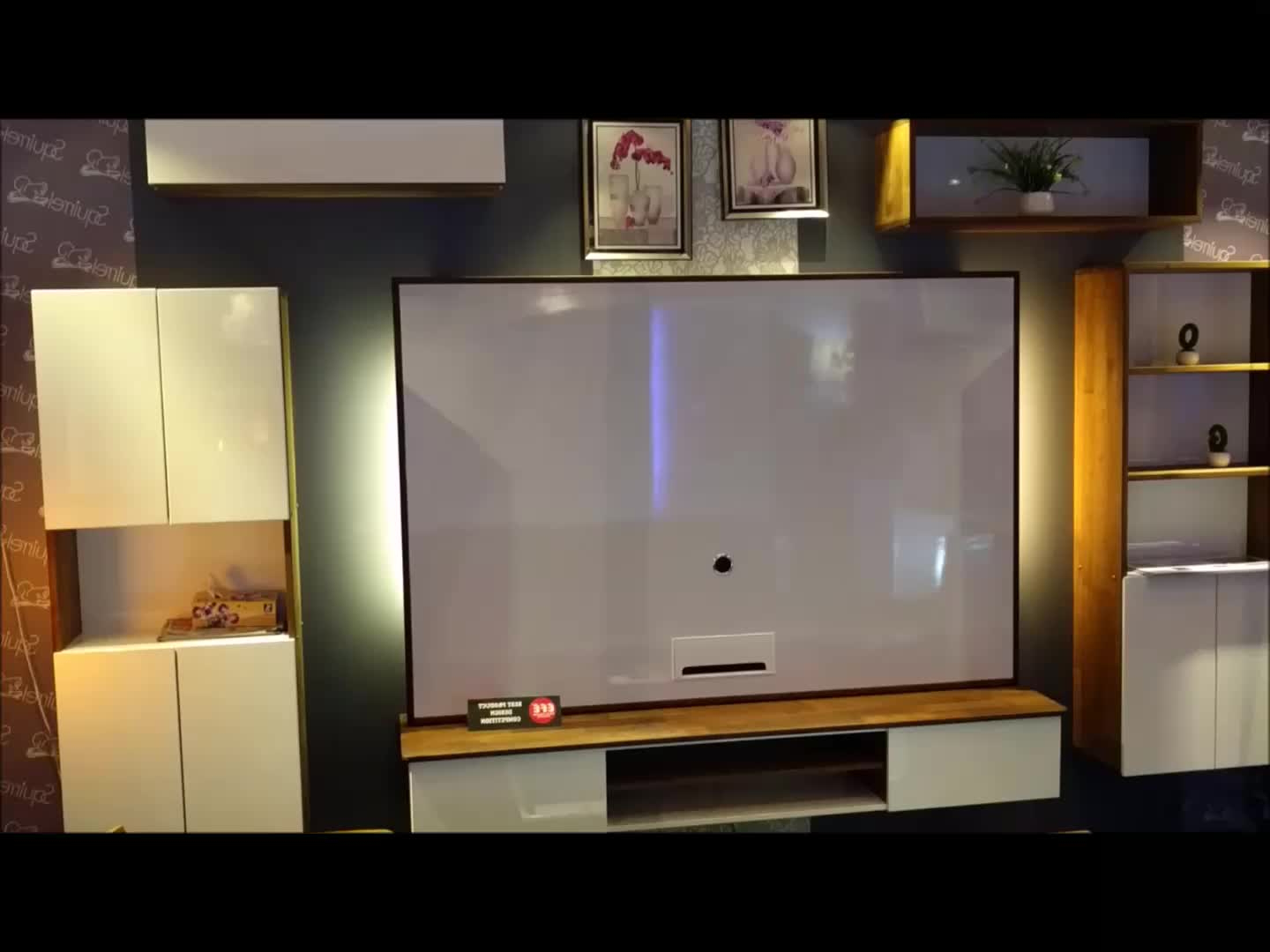 Wall Mounted Modular Living Room Modern Design Tv Cabinet – Buy Lcd Within Most Current Modern Design Tv Cabinets (View 17 of 20)