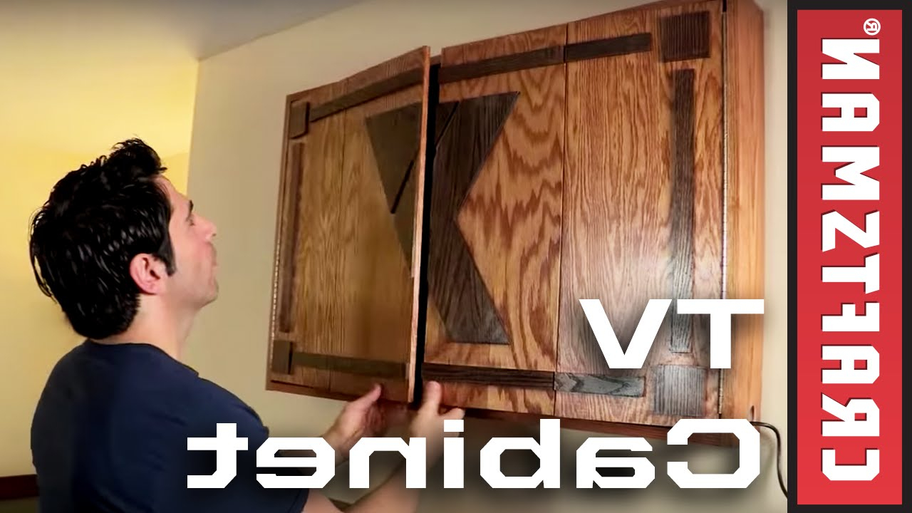 Wall Mounted Tv Cabinets For Flat Screens For 2017 How To Build A Tv Cabinet (View 17 of 20)