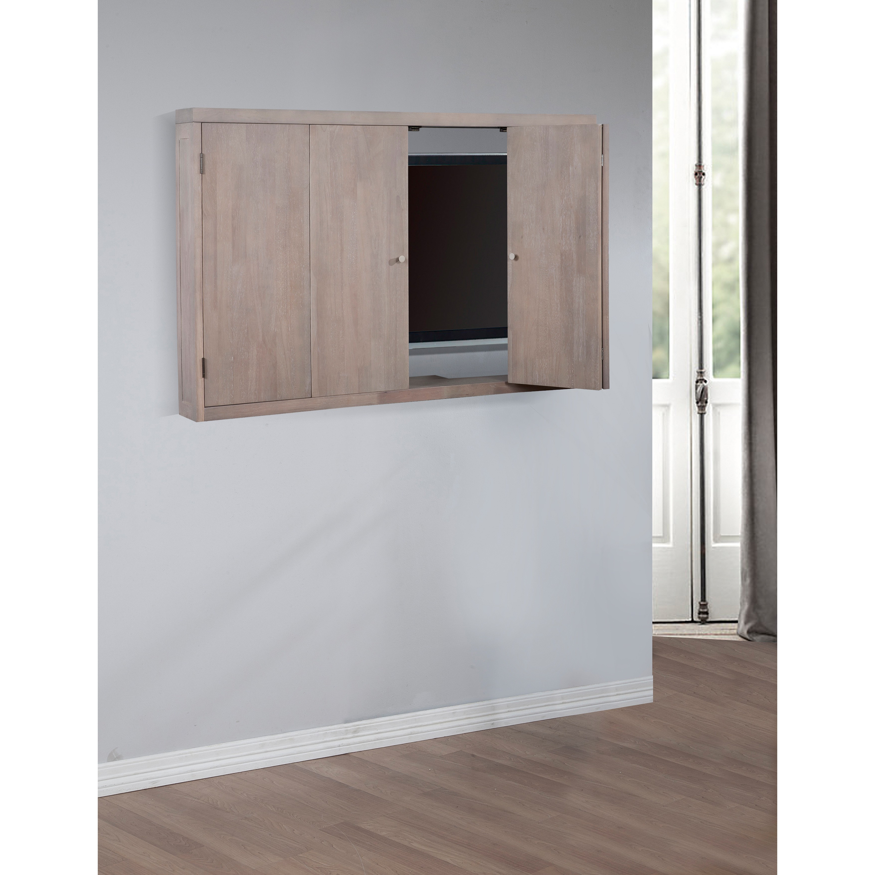 Wall Mounted Tv Cabinets For Flat Screens Throughout Latest Hide Tv Cabinets For Flat Screens – Image Cabinets And Shower Mandra (View 15 of 20)