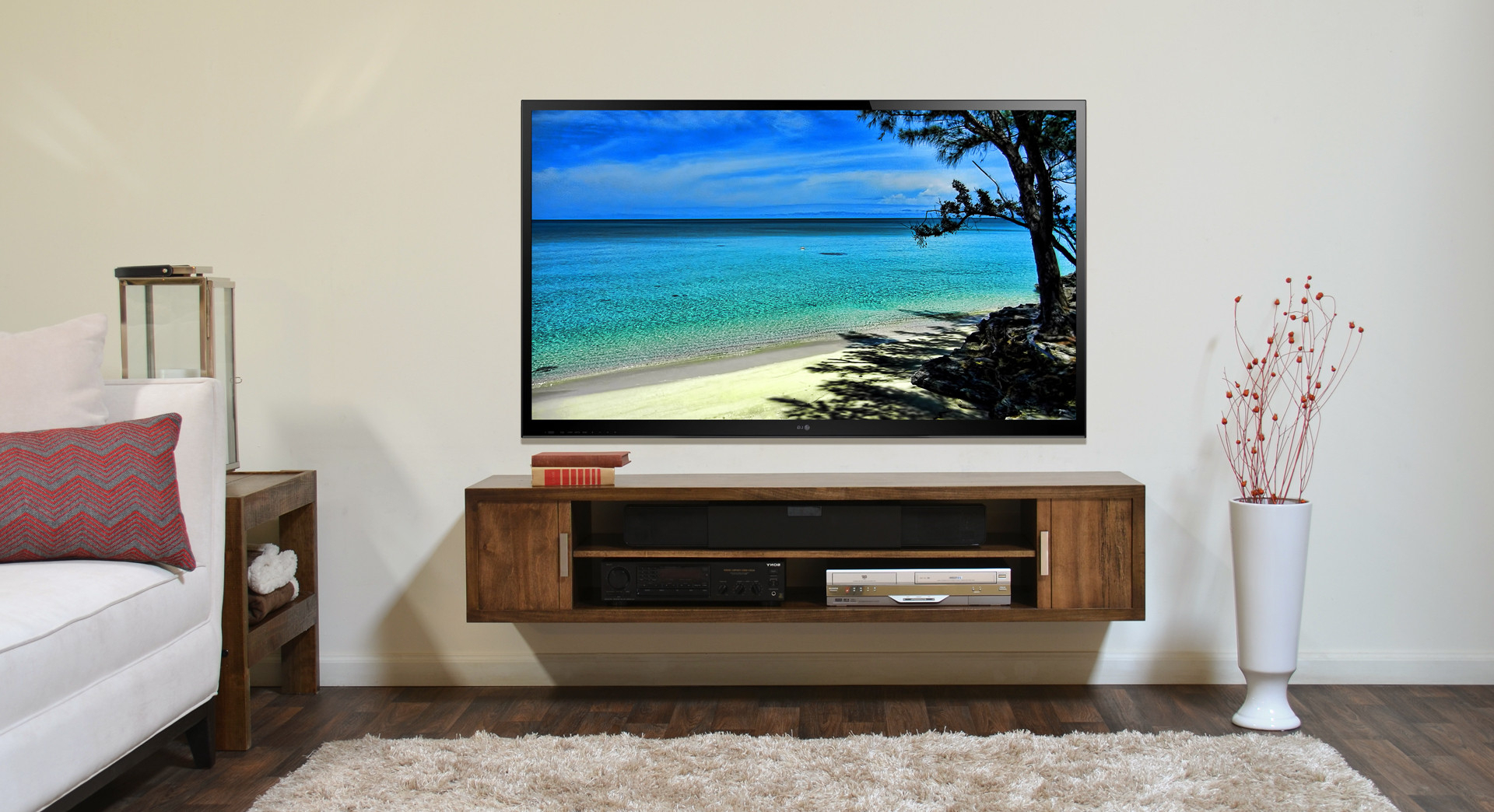 Wall Mounted Tv Stands For Flat Screens For Favorite A Guide To Wall Mounting Your Tv (View 19 of 20)