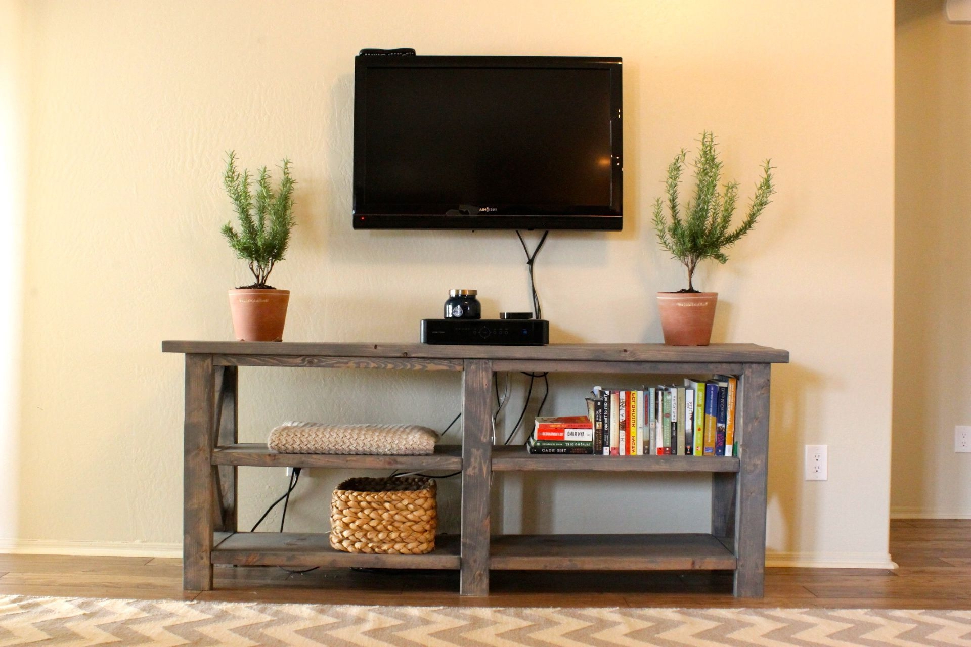 Featured Photo of Console Tables Under Wall Mounted Tv