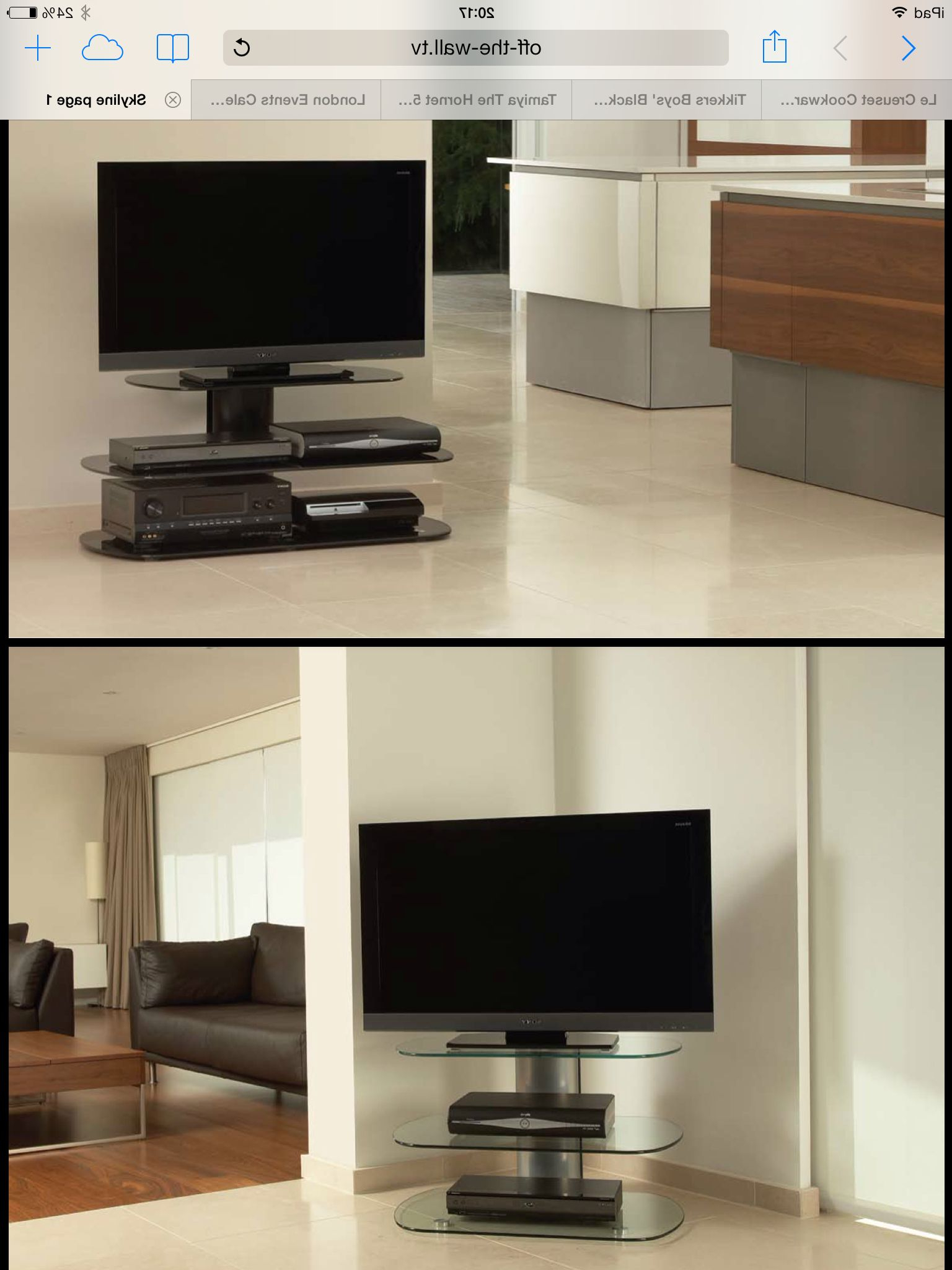Wall Tv Stand In Off The Wall Tv Stands (View 19 of 20)