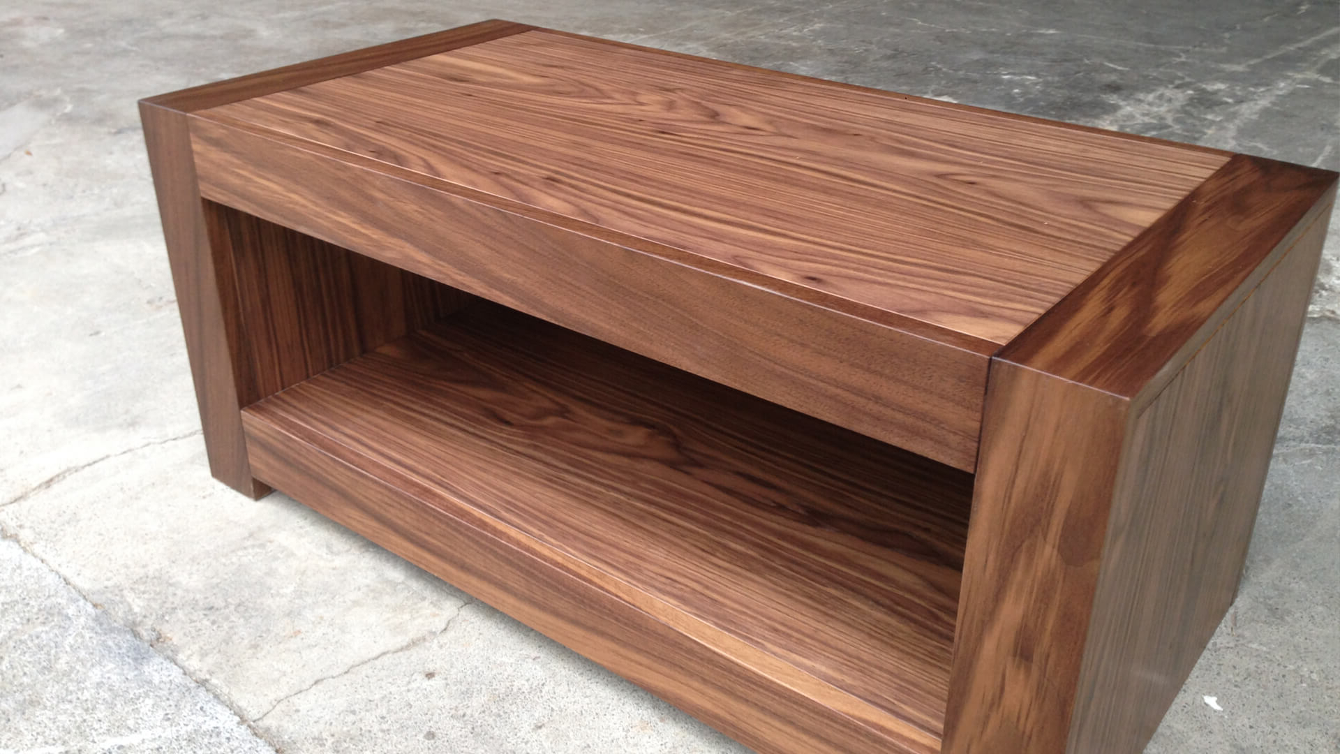Walnut Tv Stands In Most Recently Released Av Furniture – Classic Walnut Tv Unit – Av Soul (View 19 of 20)