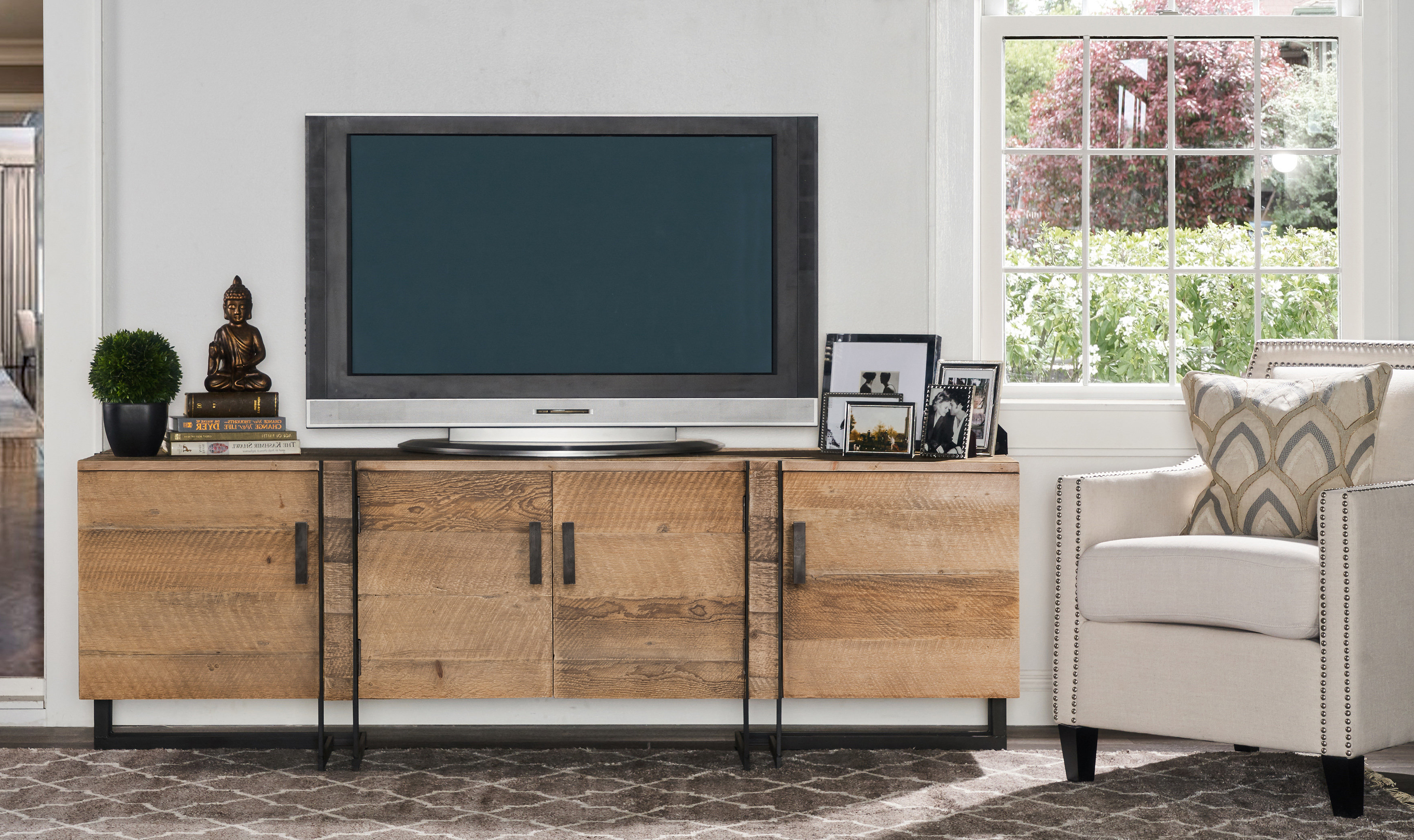 Wayfair For Well Known Walton 74 Inch Open Tv Stands (View 4 of 20)
