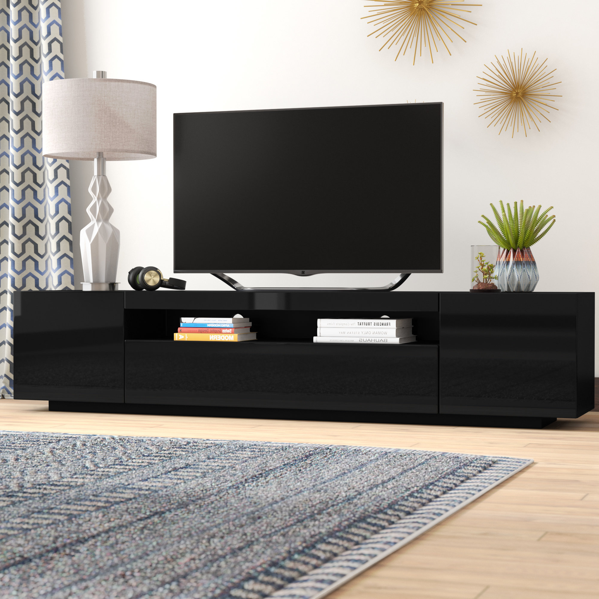 Wayfair In Red Gloss Tv Cabinets (View 16 of 20)