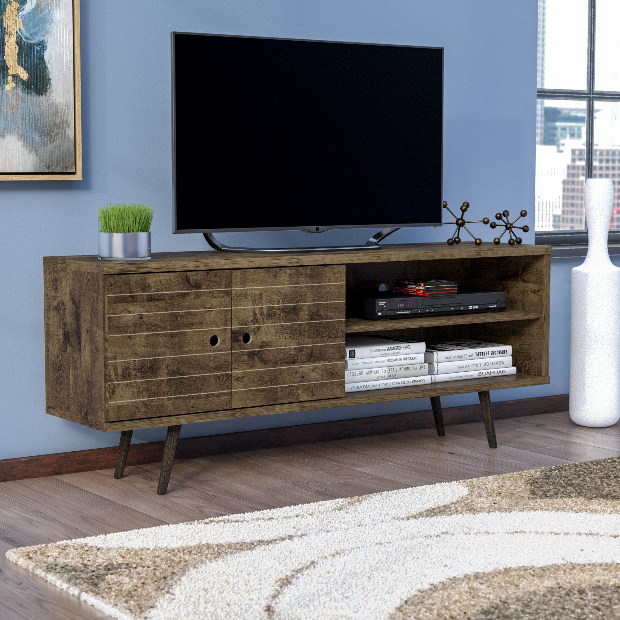 Wayfair Inside Modern Wooden Tv Stands (View 15 of 20)