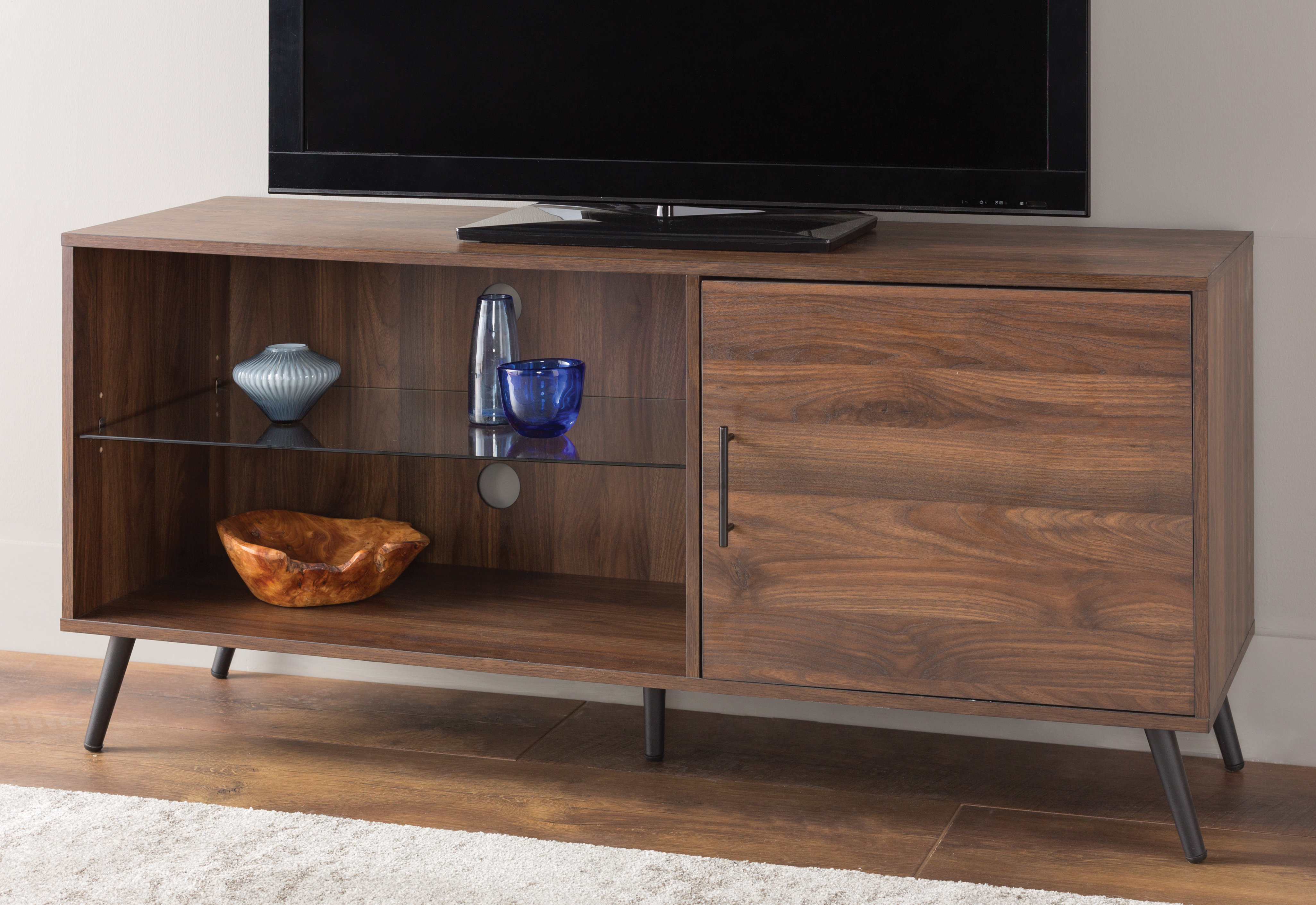 Wayfair Intended For Famous Single Shelf Tv Stands (View 7 of 20)