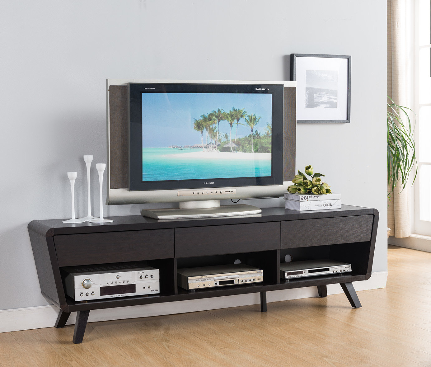 Wayfair Within Modern Style Tv Stands (View 20 of 20)