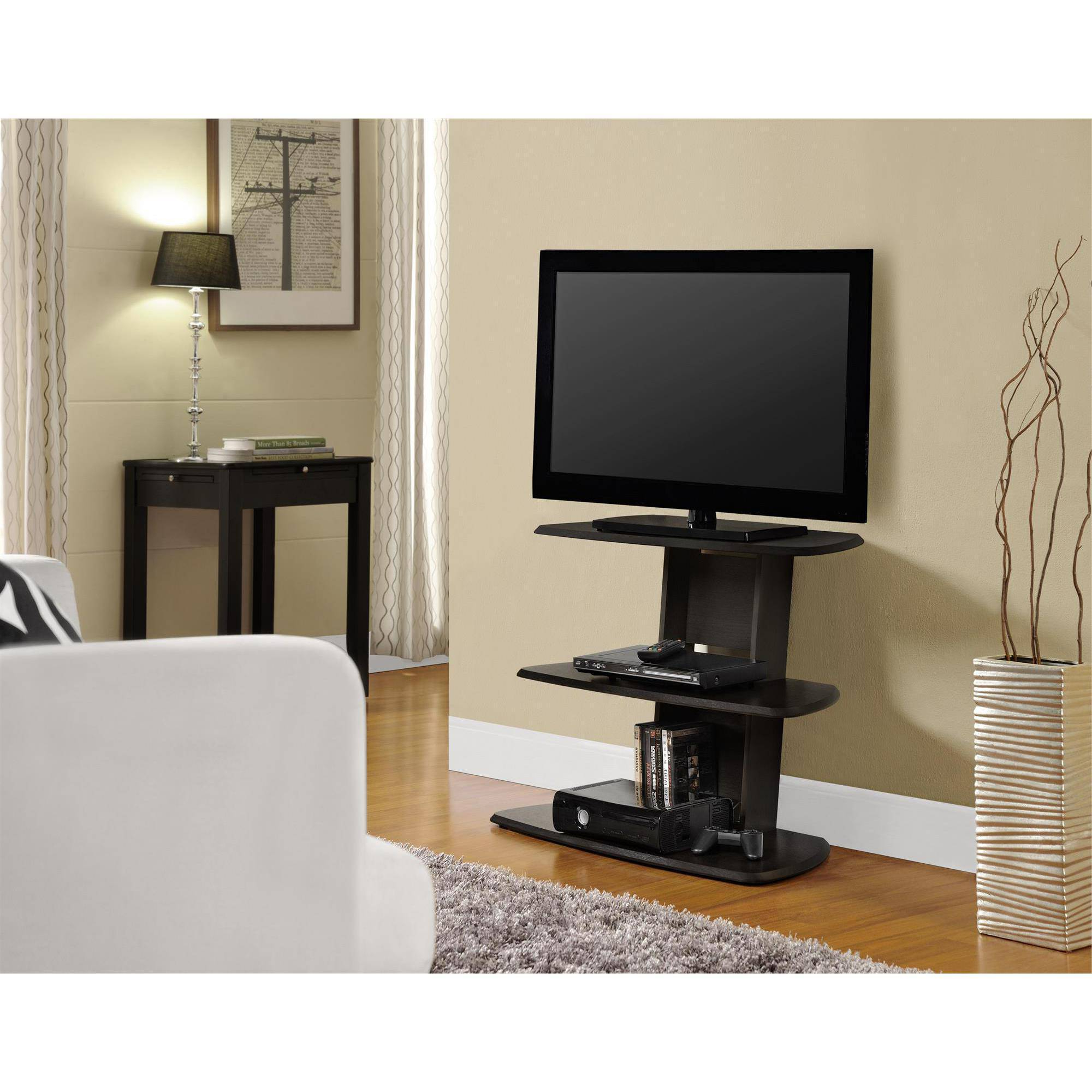 "Well Known 24 Inch Wide Tv Stands With Regard To Altra Galaxy Ii For Stand Tv Espresso Tvs Up To 32"" – 108 Top Reviews (View 20 of 20)"