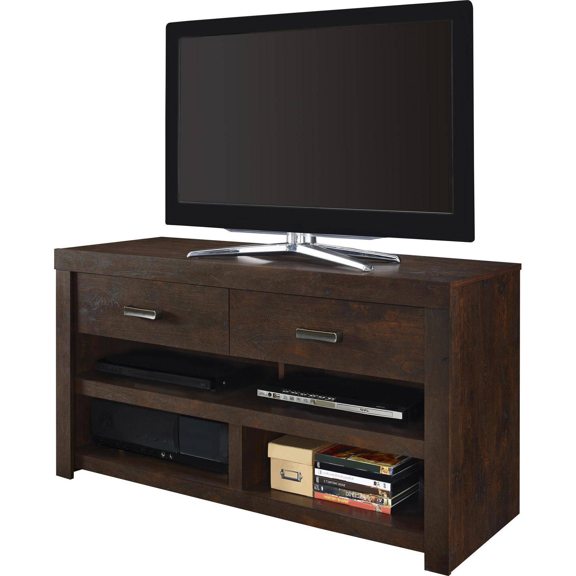 "Well Known Altra Westbrook 42"" Tv Stand, Dark Walnut – Walmart Pertaining To Dark Walnut Tv Stands (View 18 of 20)"