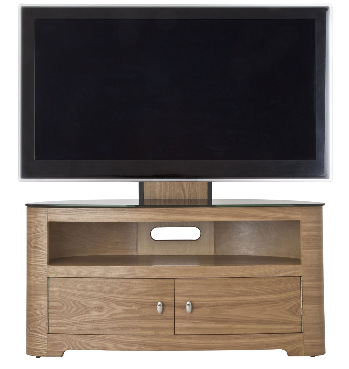 Well Known Avf Blenheim Oak Cantilever Tv Stand In Wooden Tv Stands And Cabinets (View 14 of 20)