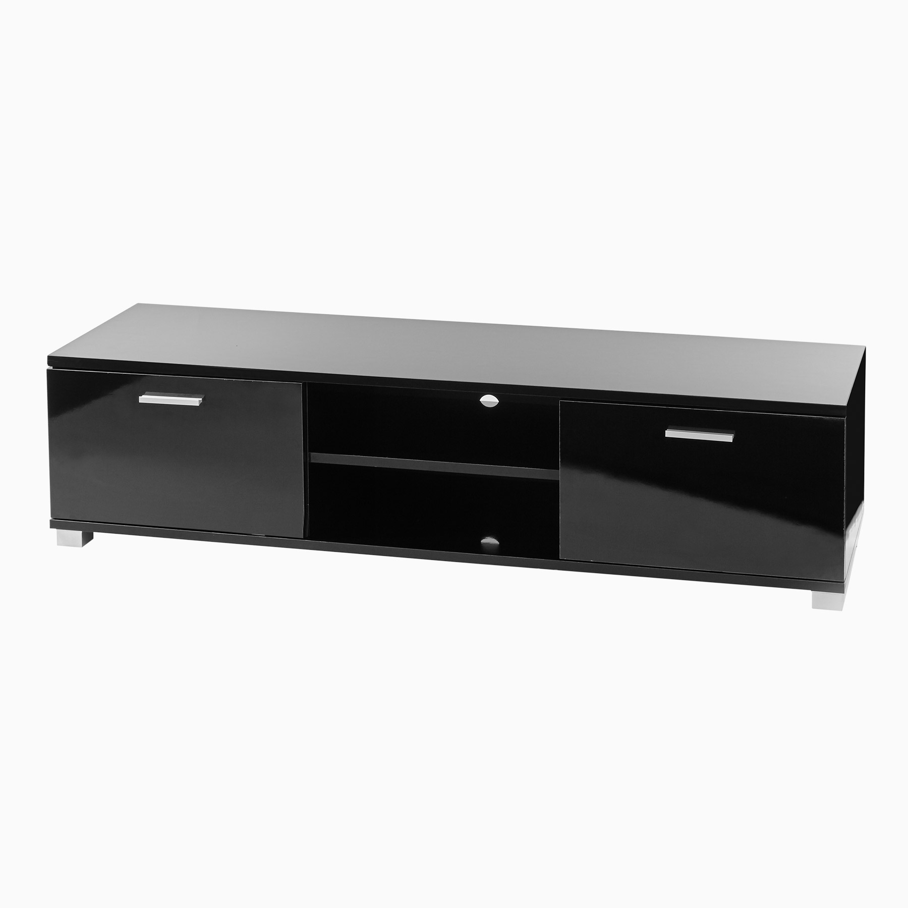 Well Known Black Gloss Tv Cabinets In Sd Ht01 Black Gloss Tv Cabinet For Up To 60 Inch Screens (View 17 of 20)