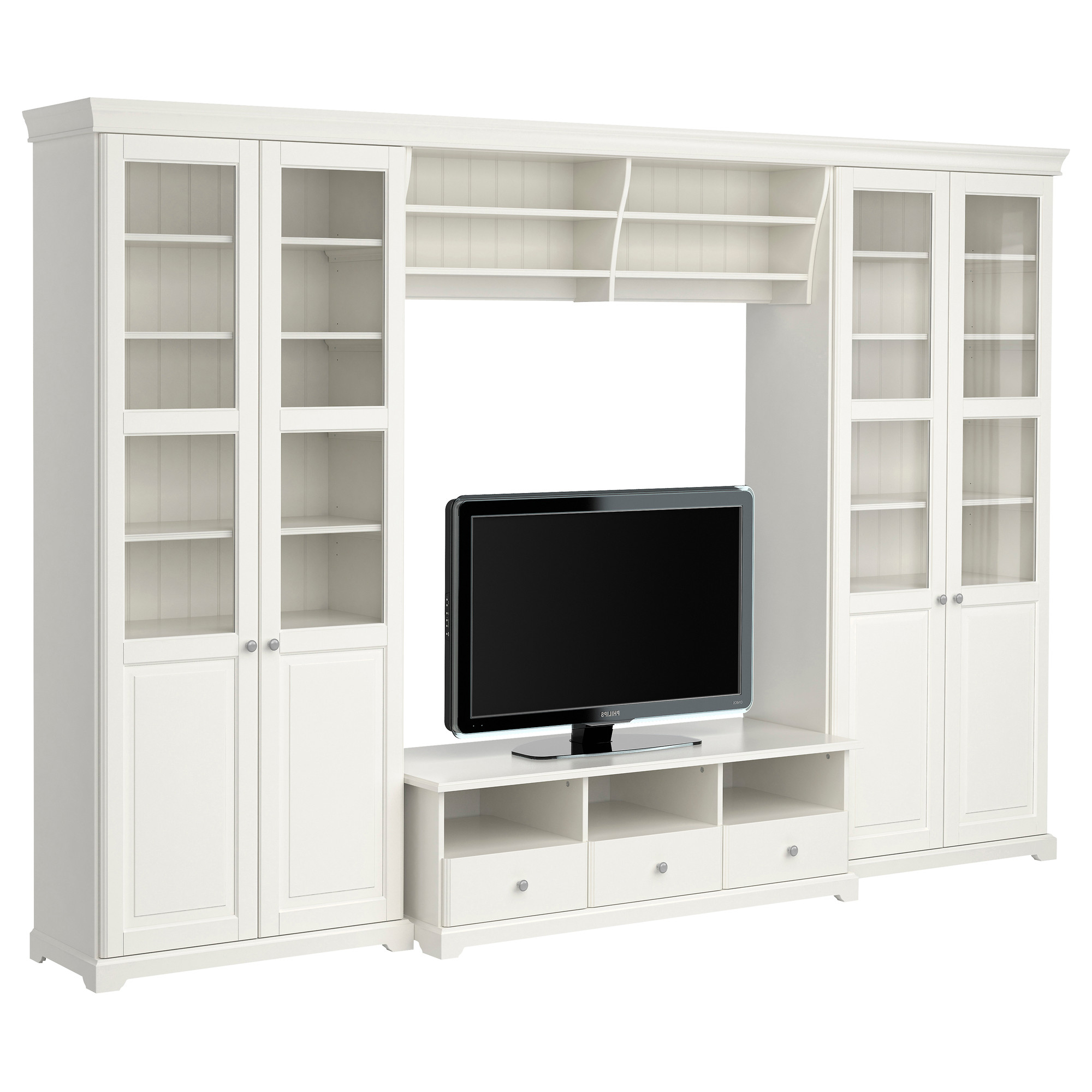 Well Known Bookshelf Tv Stands Combo Regarding Furniture: Display Space For Audio Components And Collectibles With (View 13 of 20)