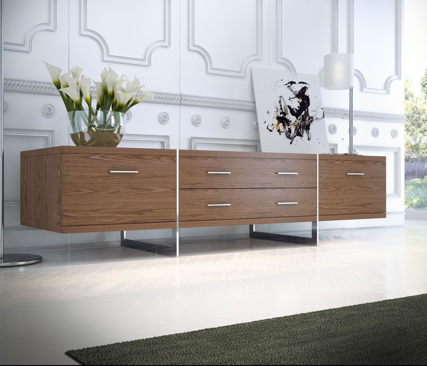 Well Known Contemporary Modern Tv Stands With Regard To Modloft Modern & Contemporary Furniture: Allen Tv Stand (View 14 of 20)