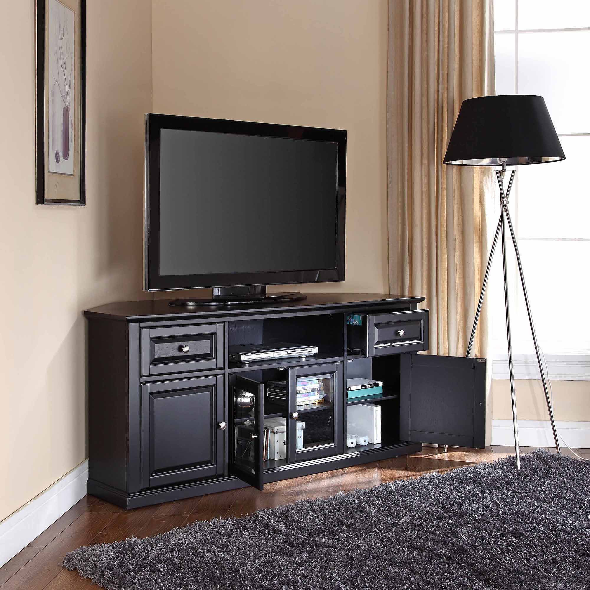 Well Known Corner Tv Stands For 55 Inch Tv With Regard To 65 Inch Tv Stand Walmart 55 Stands Sears Costco 199 60 Corner (View 11 of 20)