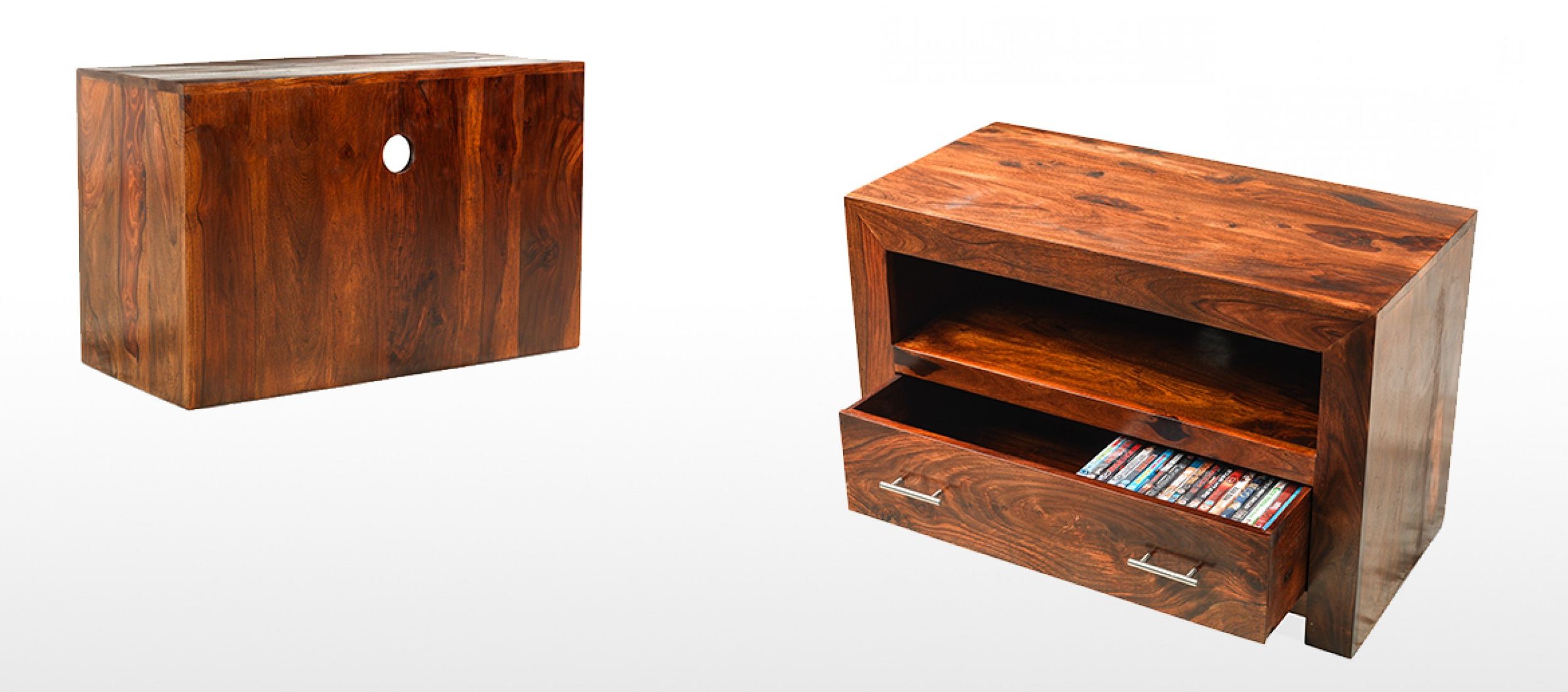 Well Known Cube Sheesham Square Tv Stand (View 16 of 20)
