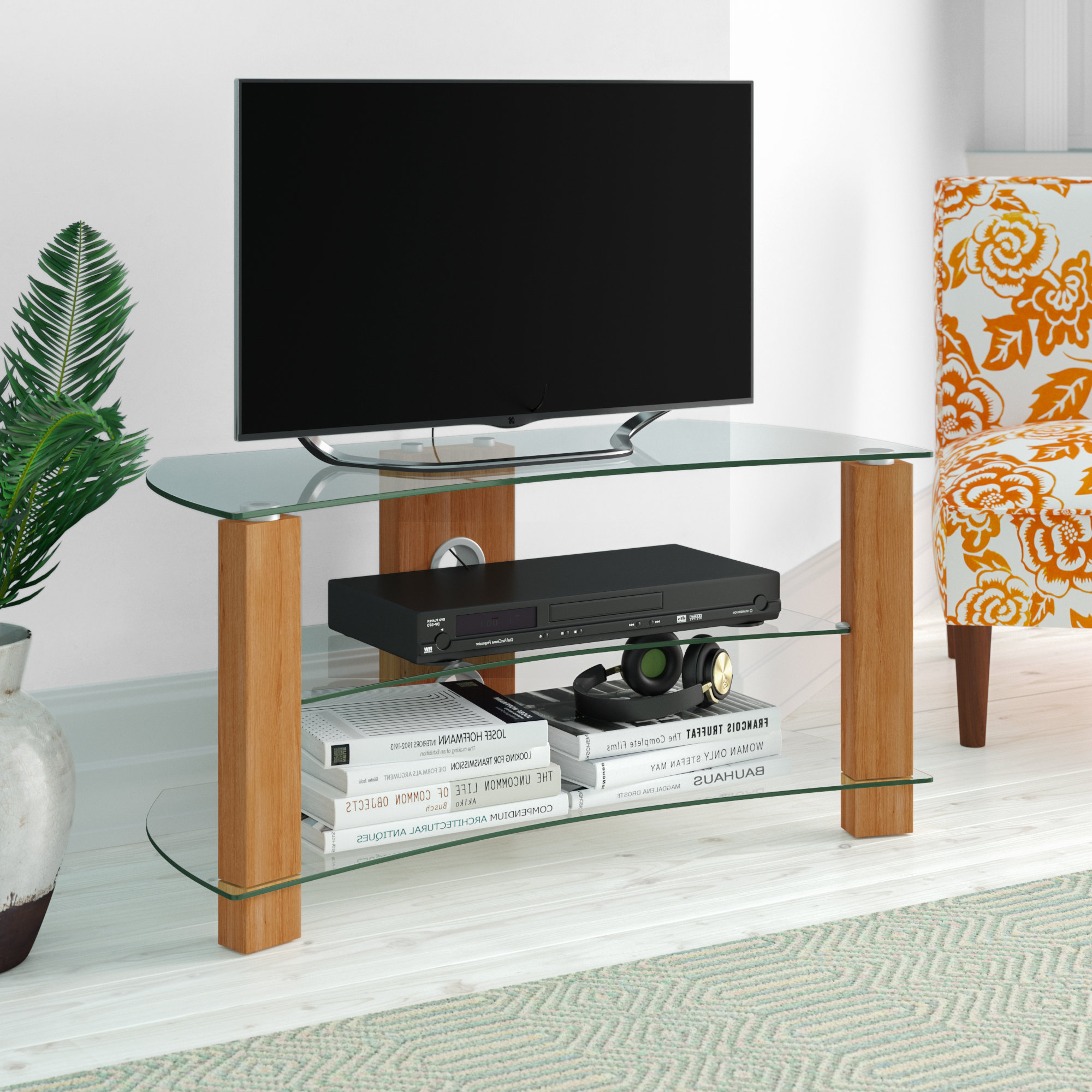 Well Known Curved Tv Units (View 9 of 20)