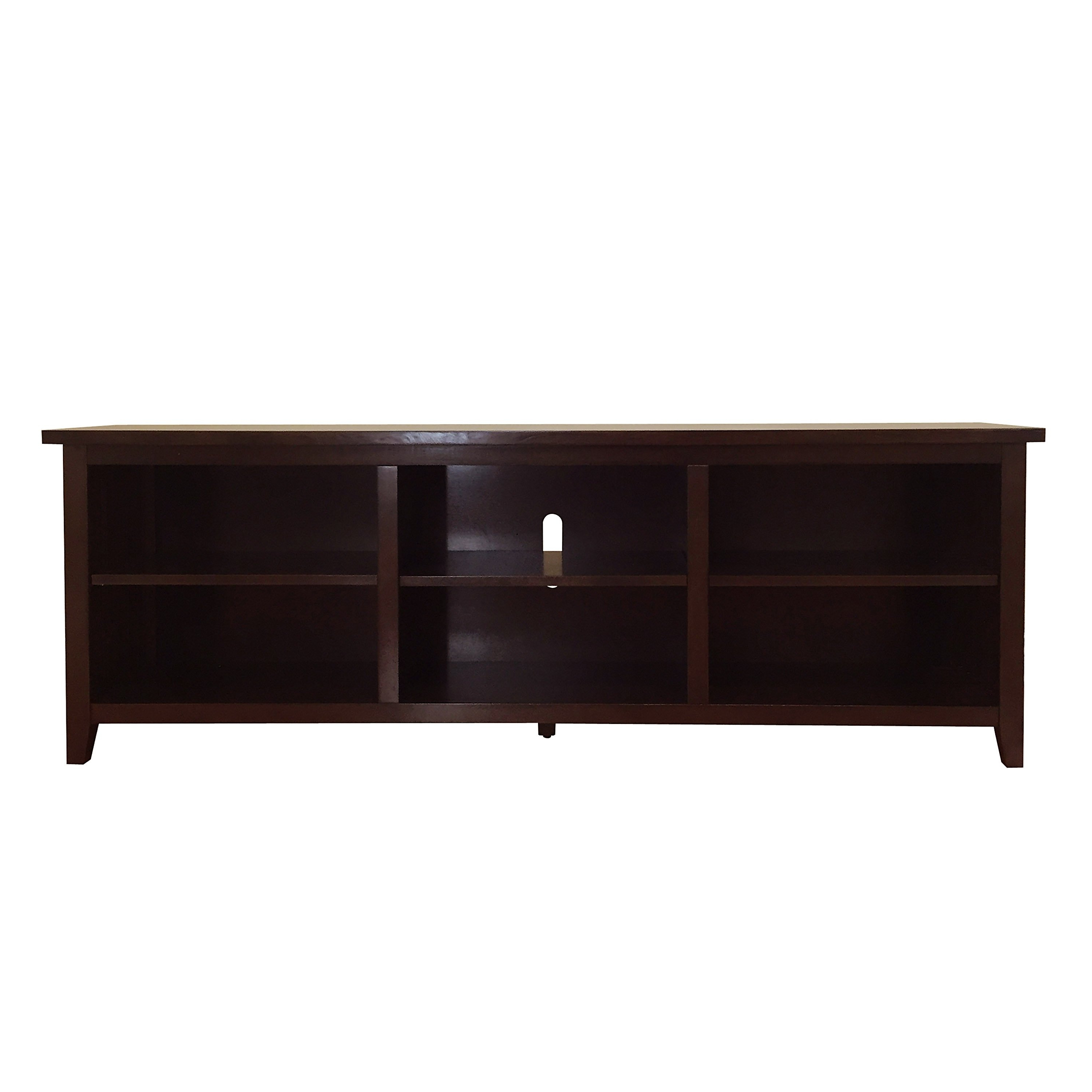 Well Known Dark Walnut Tv Stands Within Shop Brookdale Dark Walnut Tv Stand – N/a – On Sale – Free Shipping (View 19 of 20)