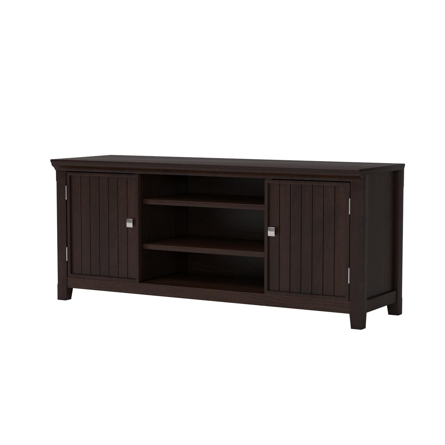 Well Known Draper 62 Inch Tv Stands Pertaining To Amazon: Simpli Home: Tv Stands (View 18 of 20)