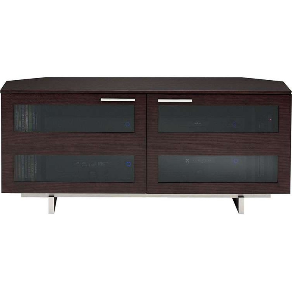 Well Known Expresso Tv Stands In Low Rustic Wooden Modern Solid Flat Panel Tv Stand Unit (View 17 of 20)