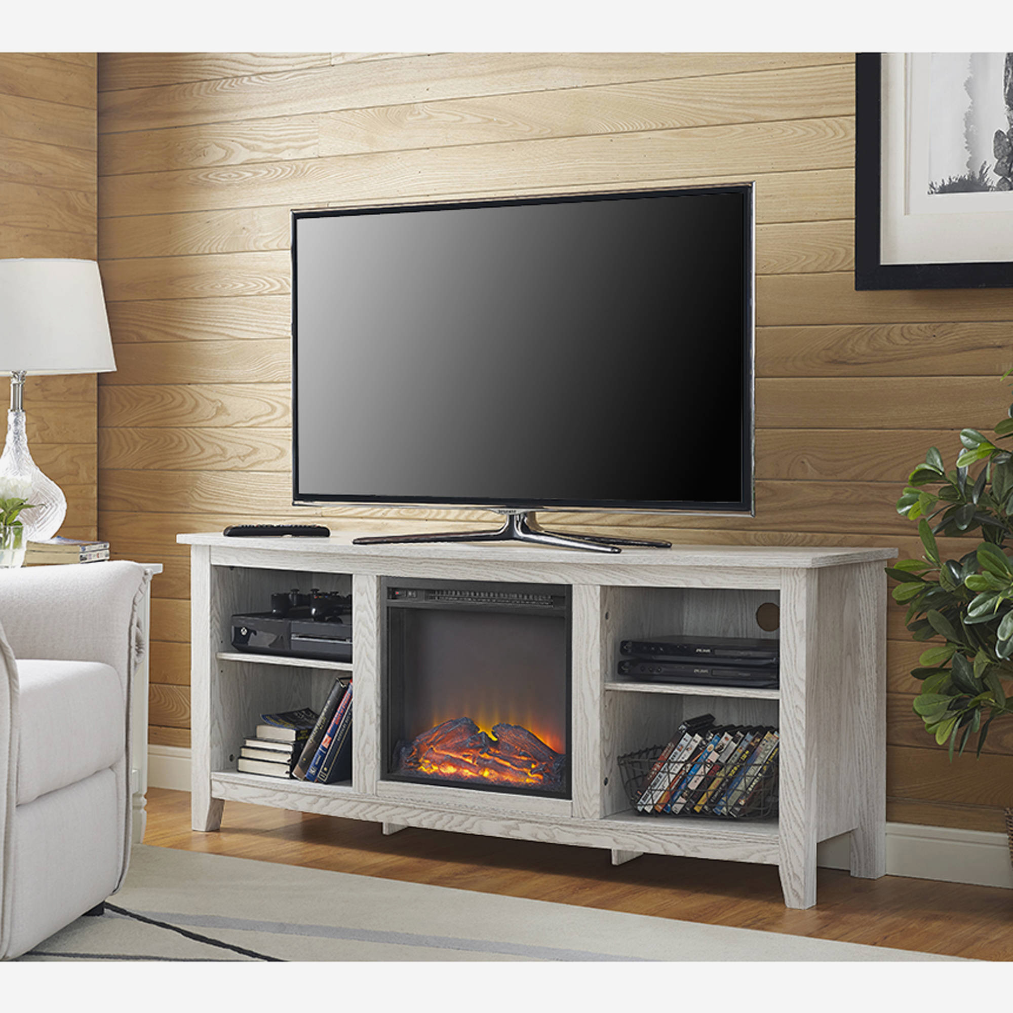 Well Known Fireplace : Cool Tv Stand With Fireplace Nice Home Design Excellent Regarding Cool Tv Stands (View 14 of 20)