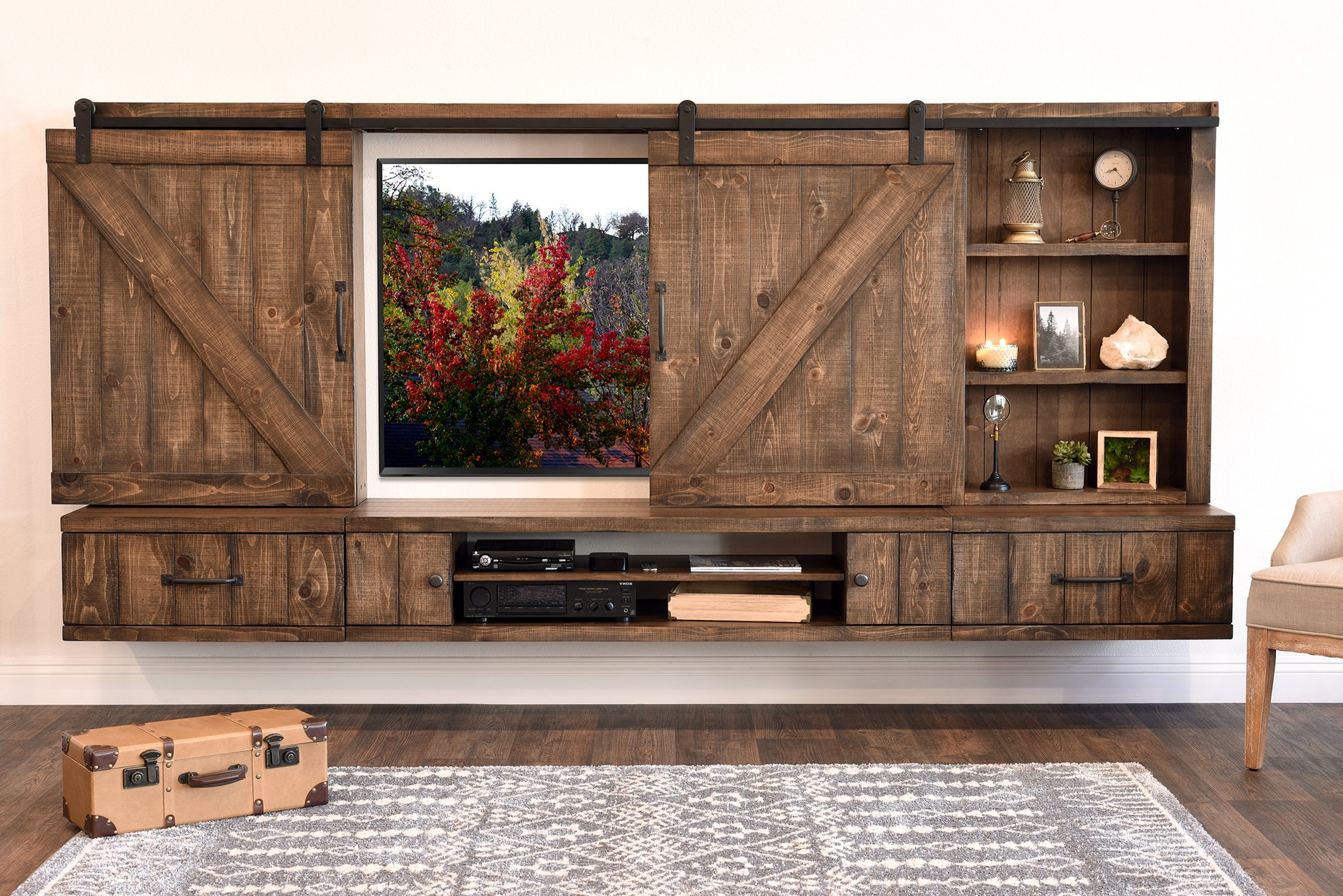 Well Known Flat Screen Tv Wall Cabinet Furniture What To Put Under Mounted With In Tv Wall Cabinets (Gallery 3 of 20)