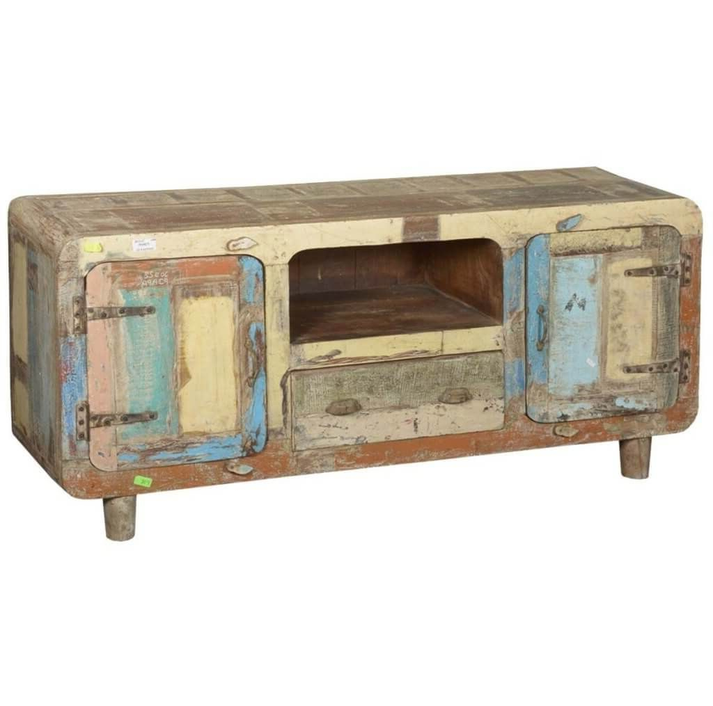 Well Known Furniture: Amusing Curved Corner Color Stained Rustic Wooden Tv Pertaining To Rustic Looking Tv Stands (View 19 of 20)