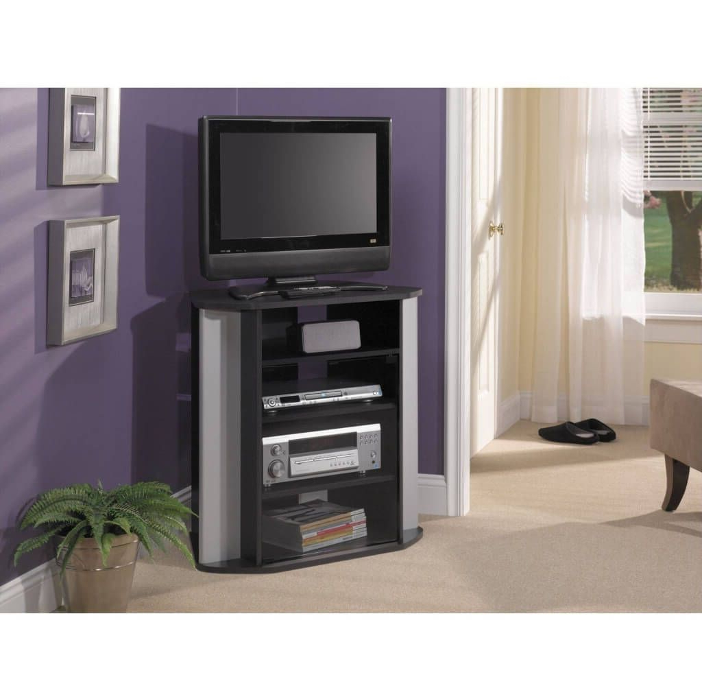 Well Known Furniture: Purple Wall With Tall Tv Stand And White Shade Slipper Throughout Tall Skinny Tv Stands (View 8 of 20)