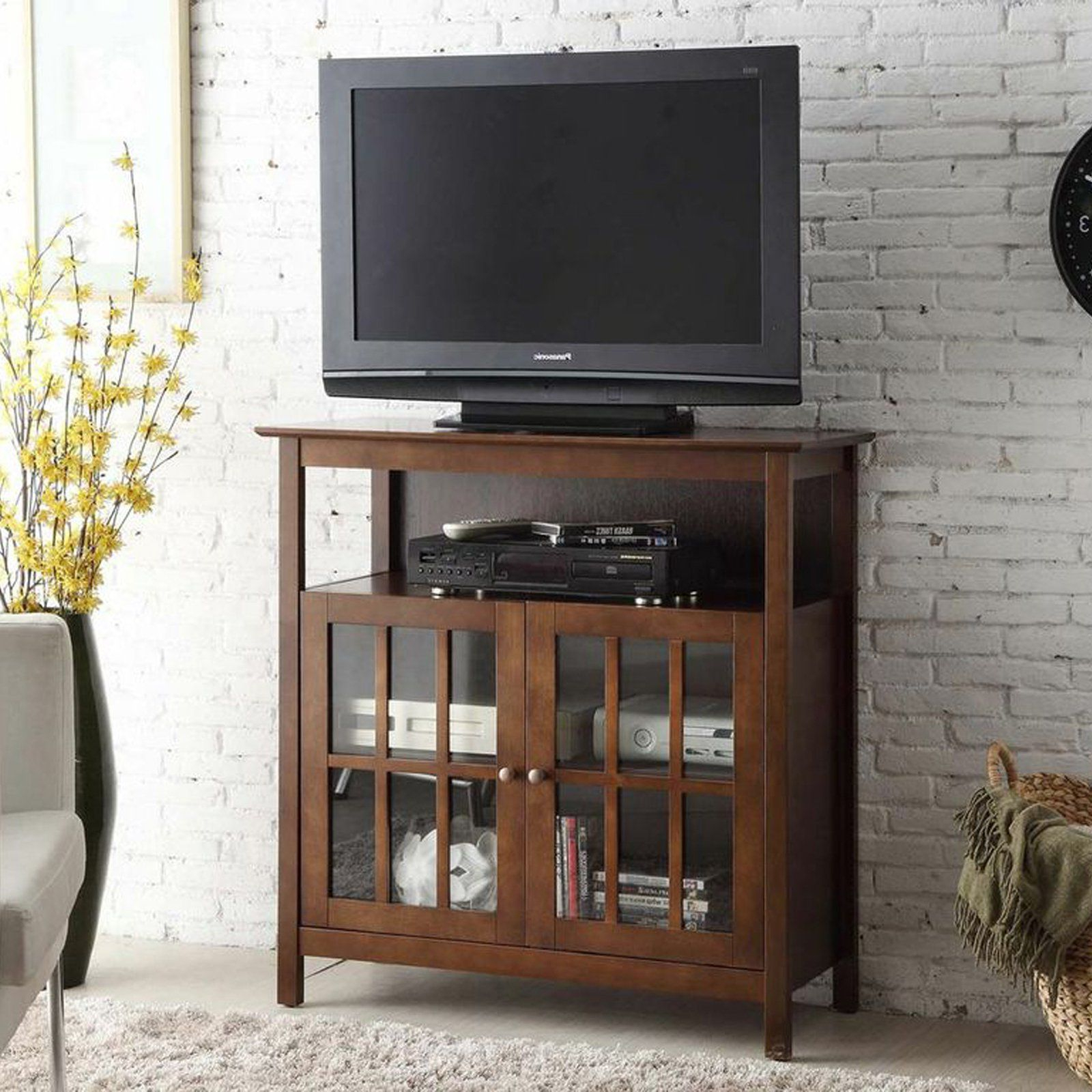 Well Known Highboy Tv Stands In Convenience Concepts Big Sur Highboy Tv Stand (View 19 of 20)