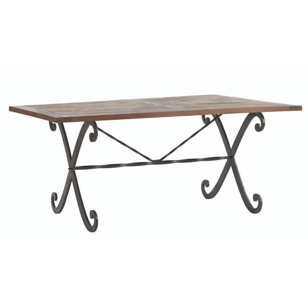 Well Known Home Decorators Collection Lyon Cafe Dining Table (View 13 of 20)
