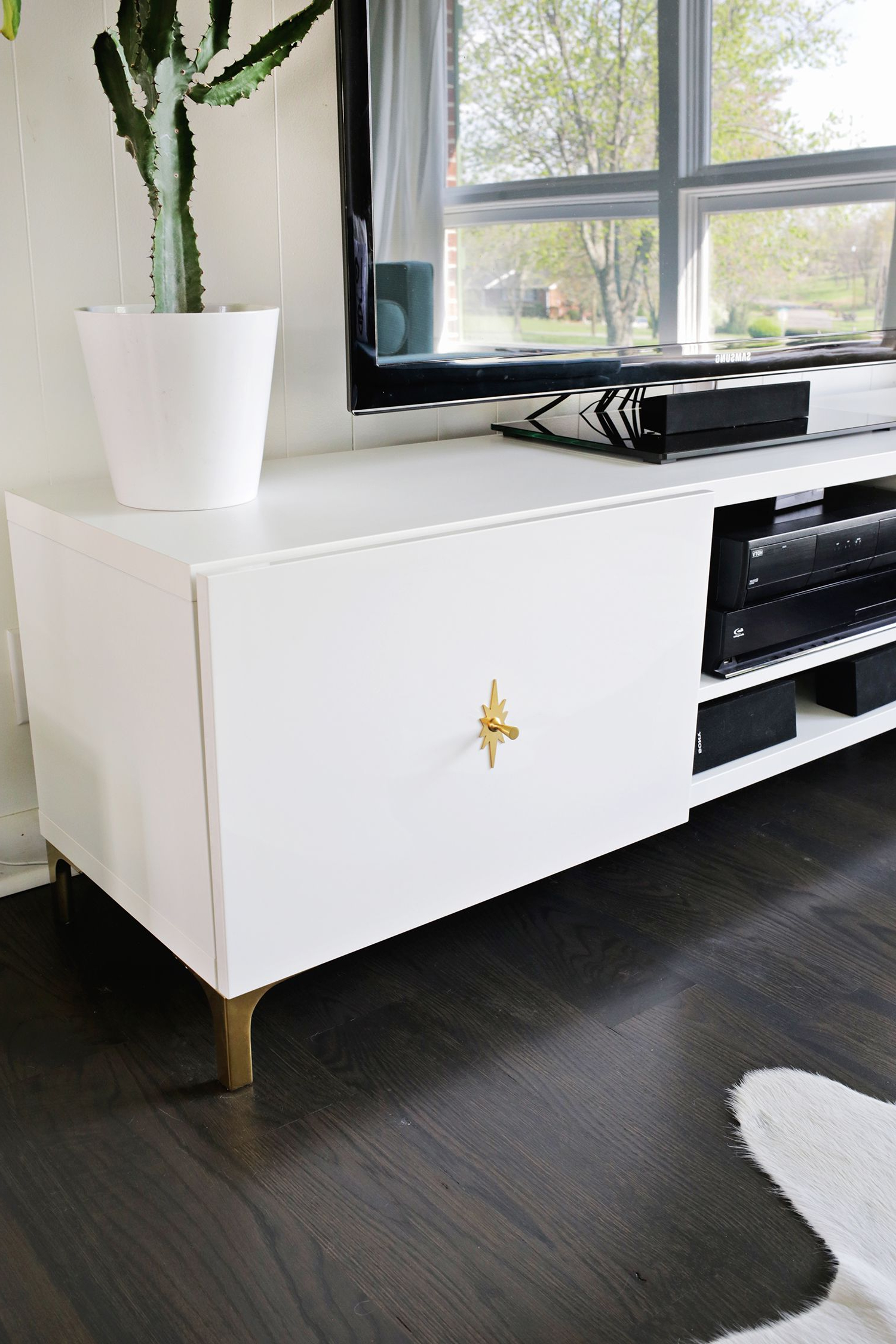 Well Known Ikea Restyle: Mid Century Tv Stand (View 14 of 20)
