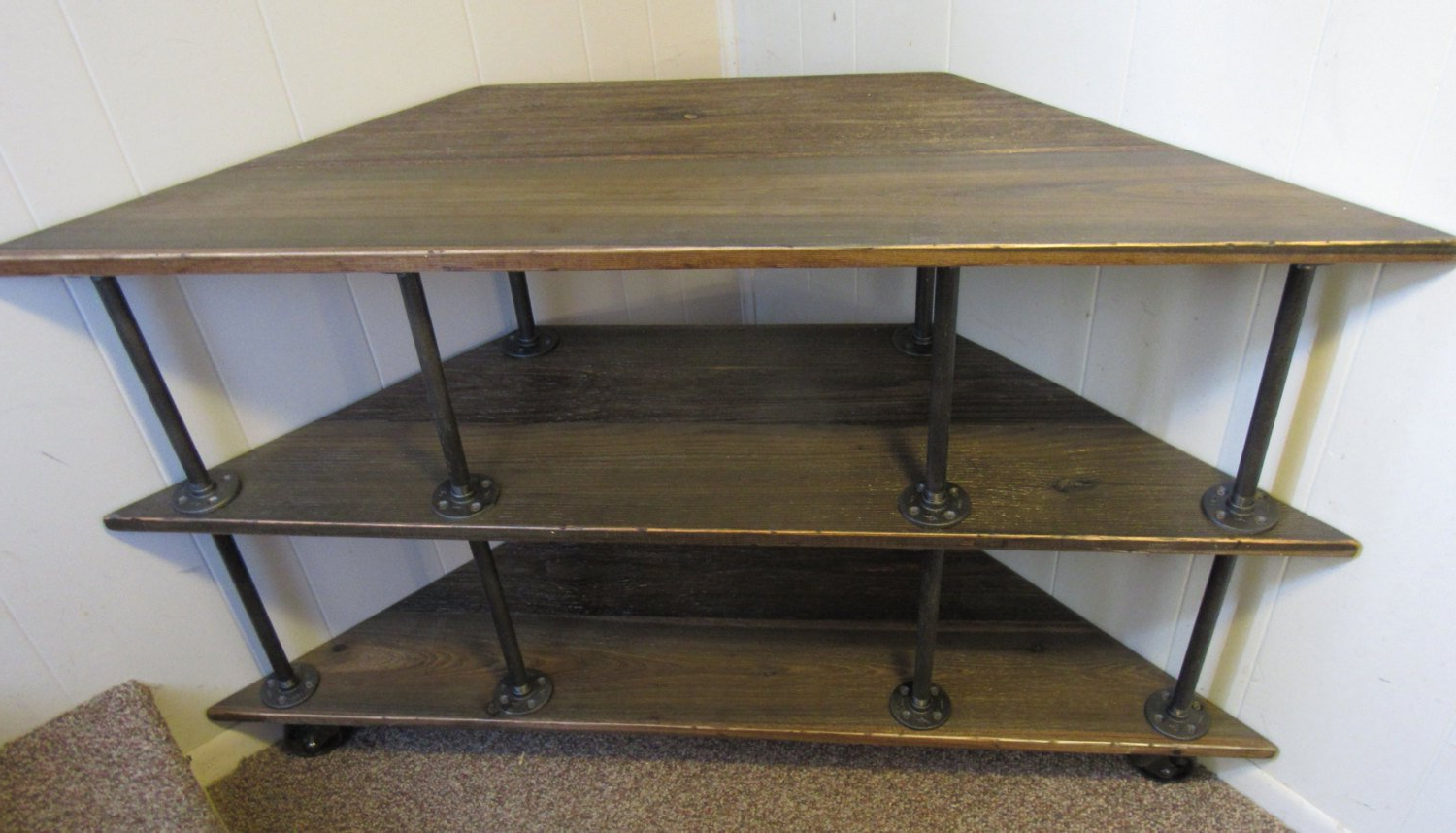 Featured Photo of Industrial Corner Tv Stands