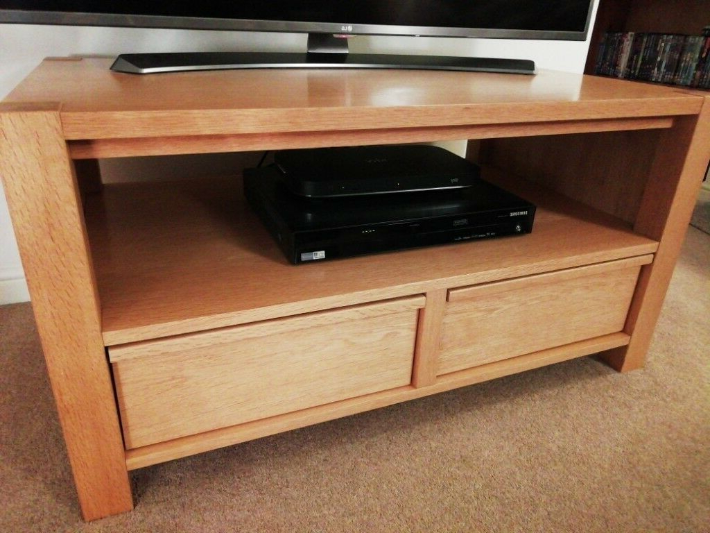 Well Known Oak Tv Cabinets For Flat Screens With Doors Within Next Oak Tv Unit (View 18 of 20)