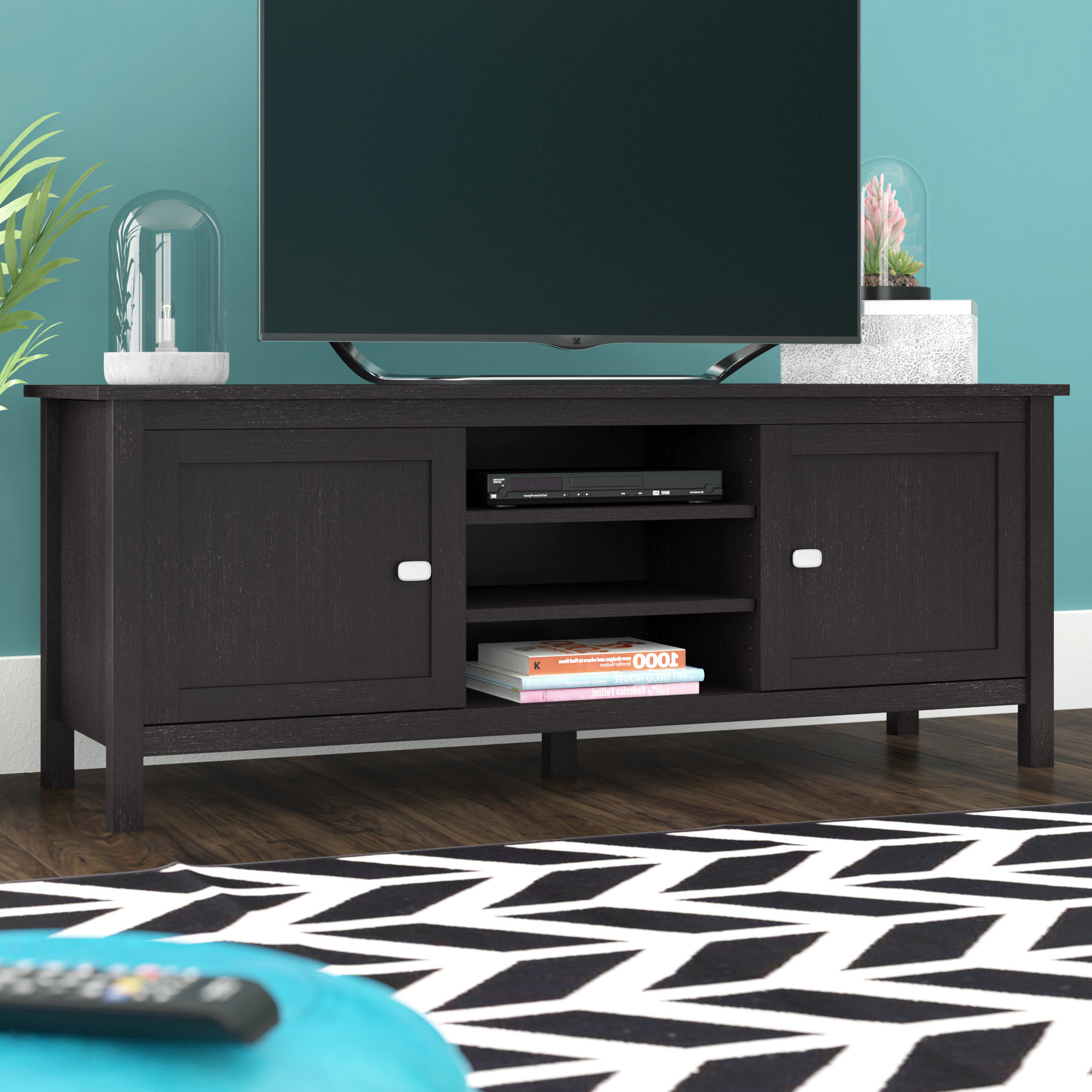Well Known Oak Tv Cabinets With Doors With Regard To Oak Tv Stands You'll Love (Gallery 18 of 20)