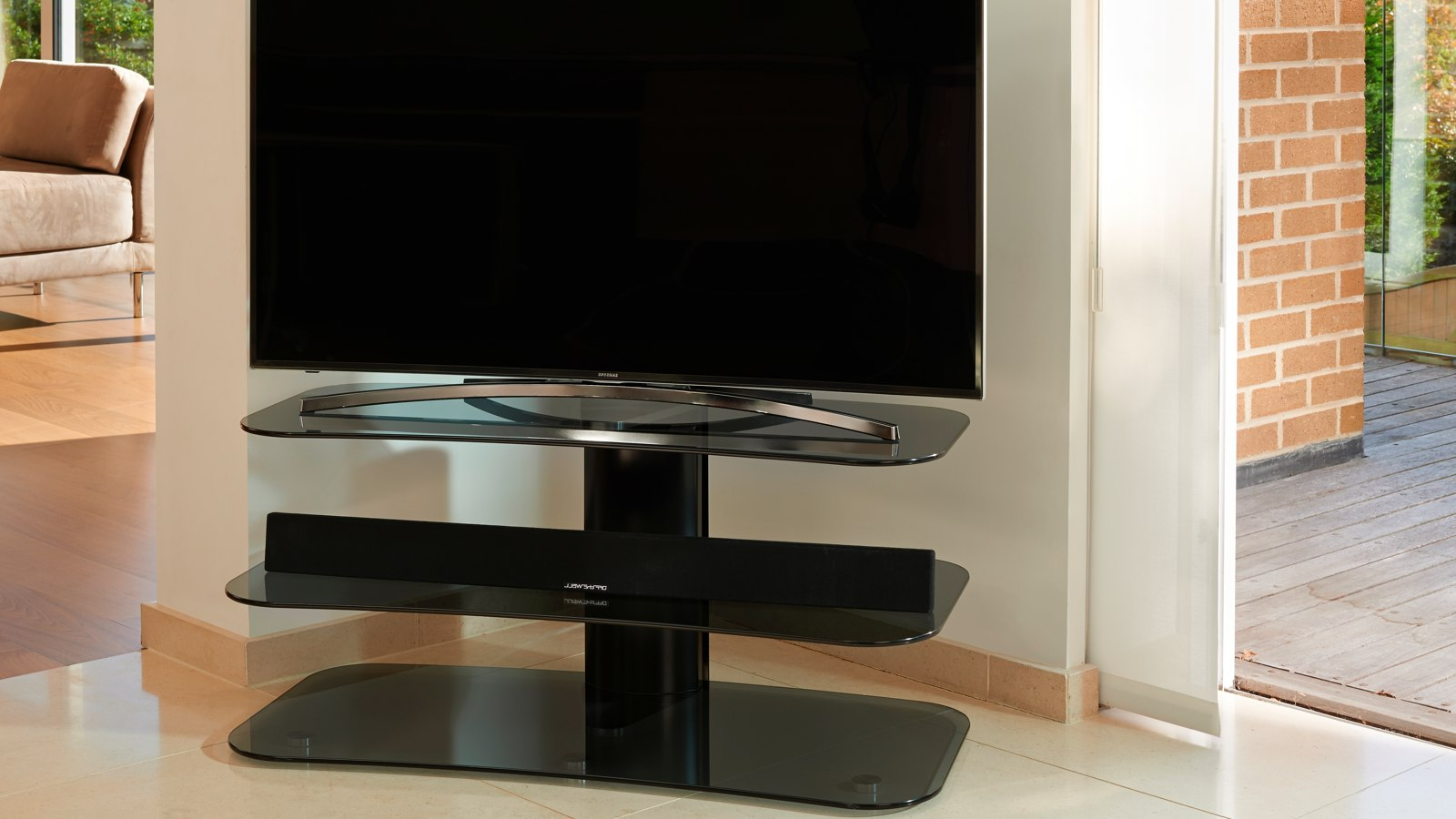Well Known Off The Wall – Flat Screen Tv Stands Inside Off The Wall Tv Stands (View 4 of 20)