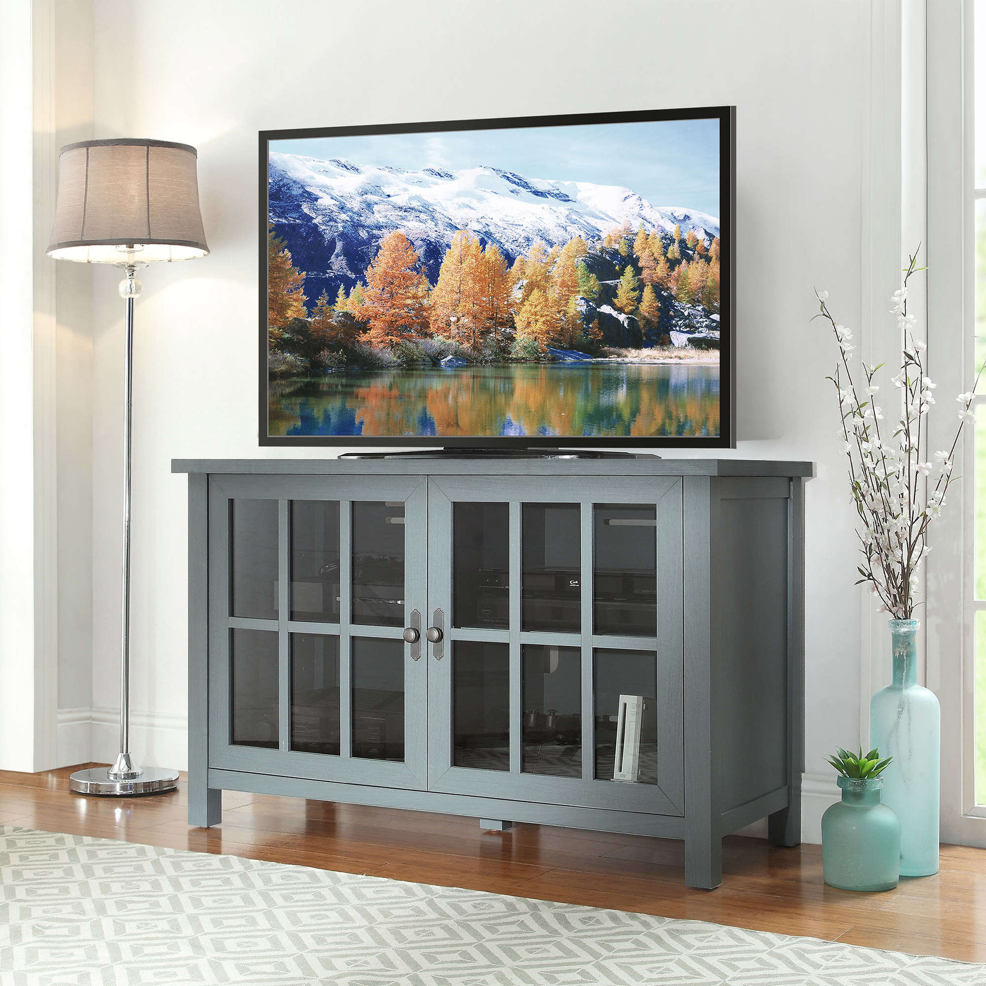 Well Known Oxford 84 Inch Tv Stands With Regard To Better Homes And Gardens Oxford Square Tv Console For Tvs Up To 55 (Gallery 11 of 20)