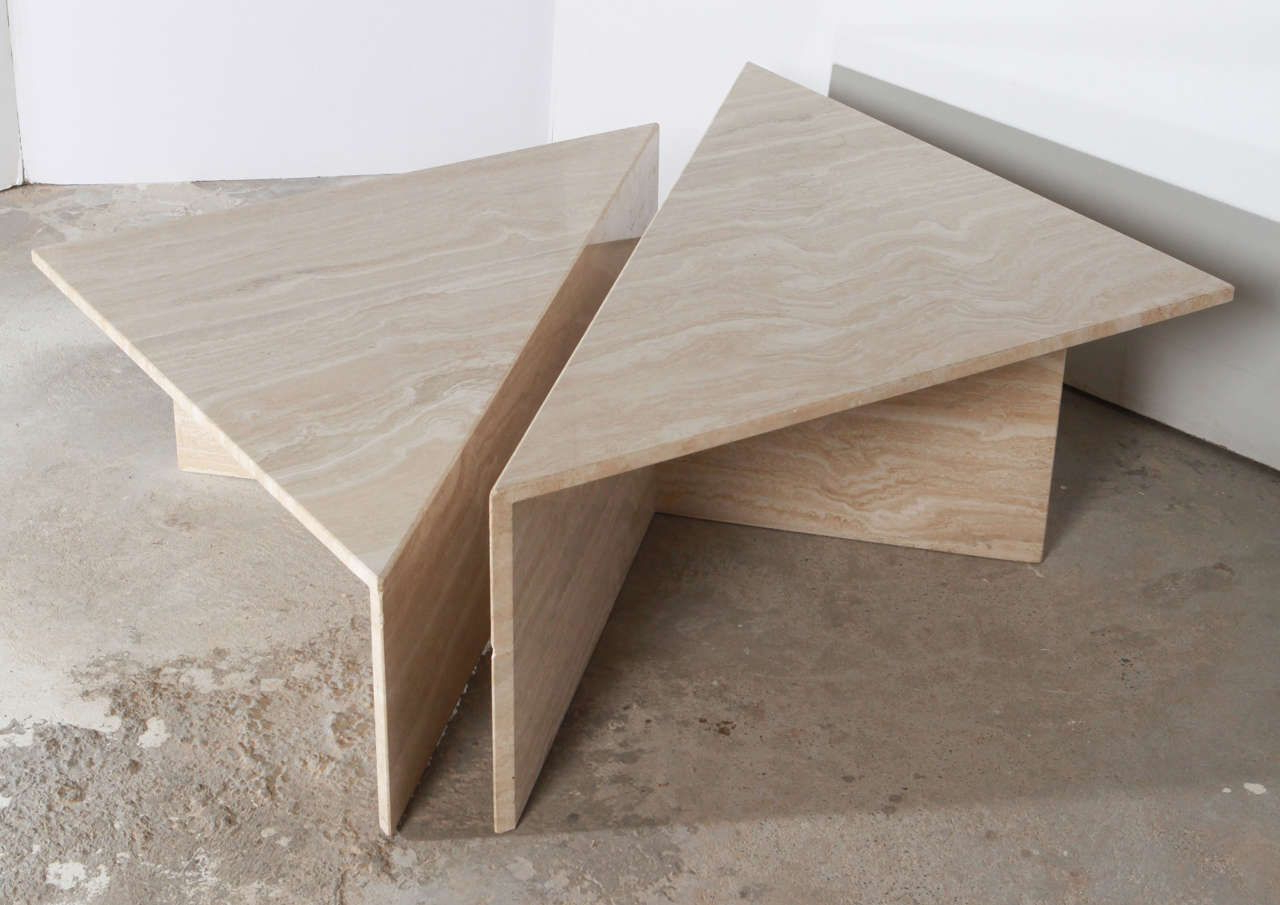 Well Known Parsons Travertine Top & Elm Base 48X16 Console Tables In Travertine Coffee Tables Coffee Drinker Parsons Coffee Table West (Gallery 17 of 18)
