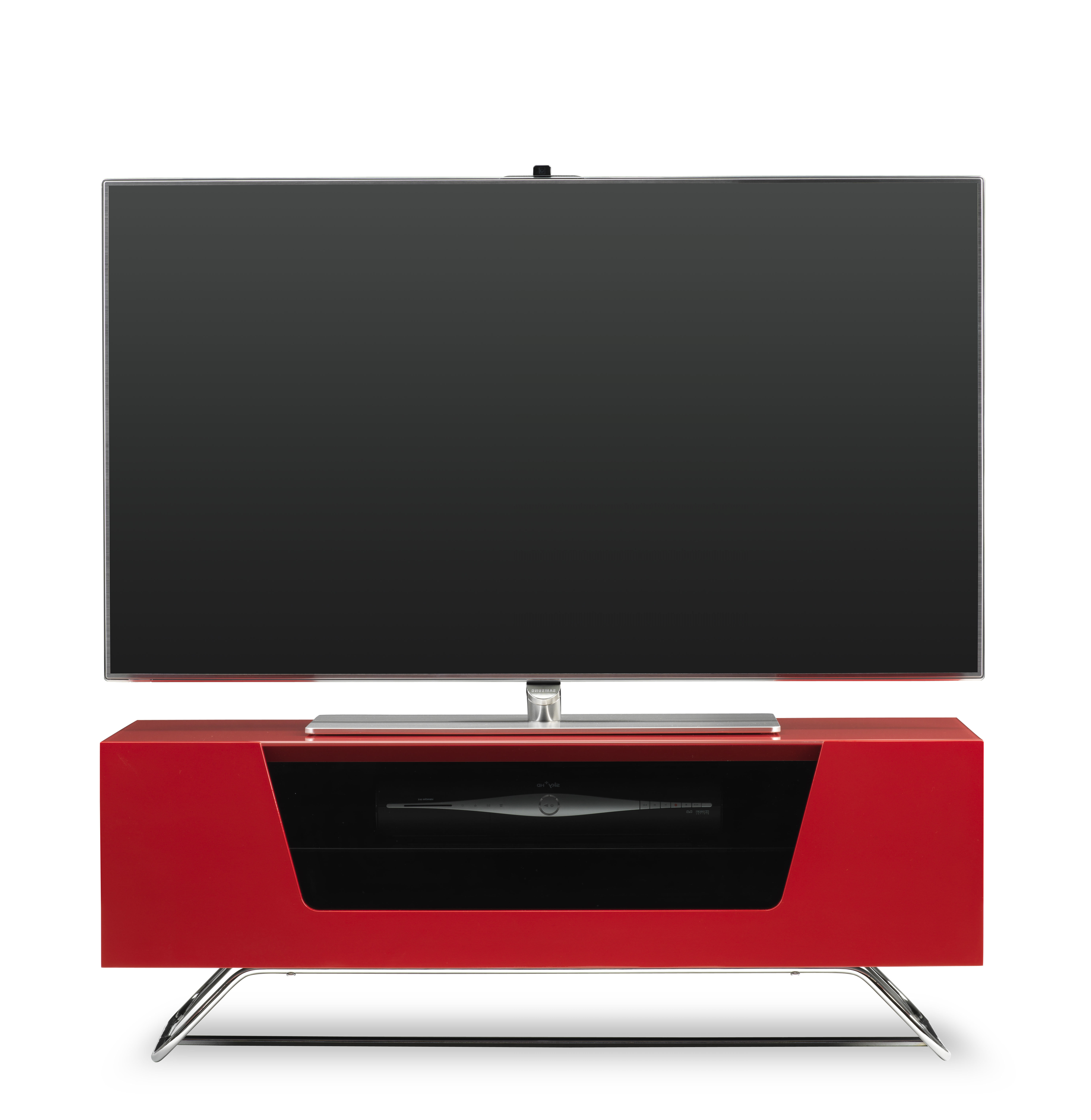 Well Known Red Modern Tv Stands Pertaining To Red Modern Tv Stands You'll Love (View 3 of 20)