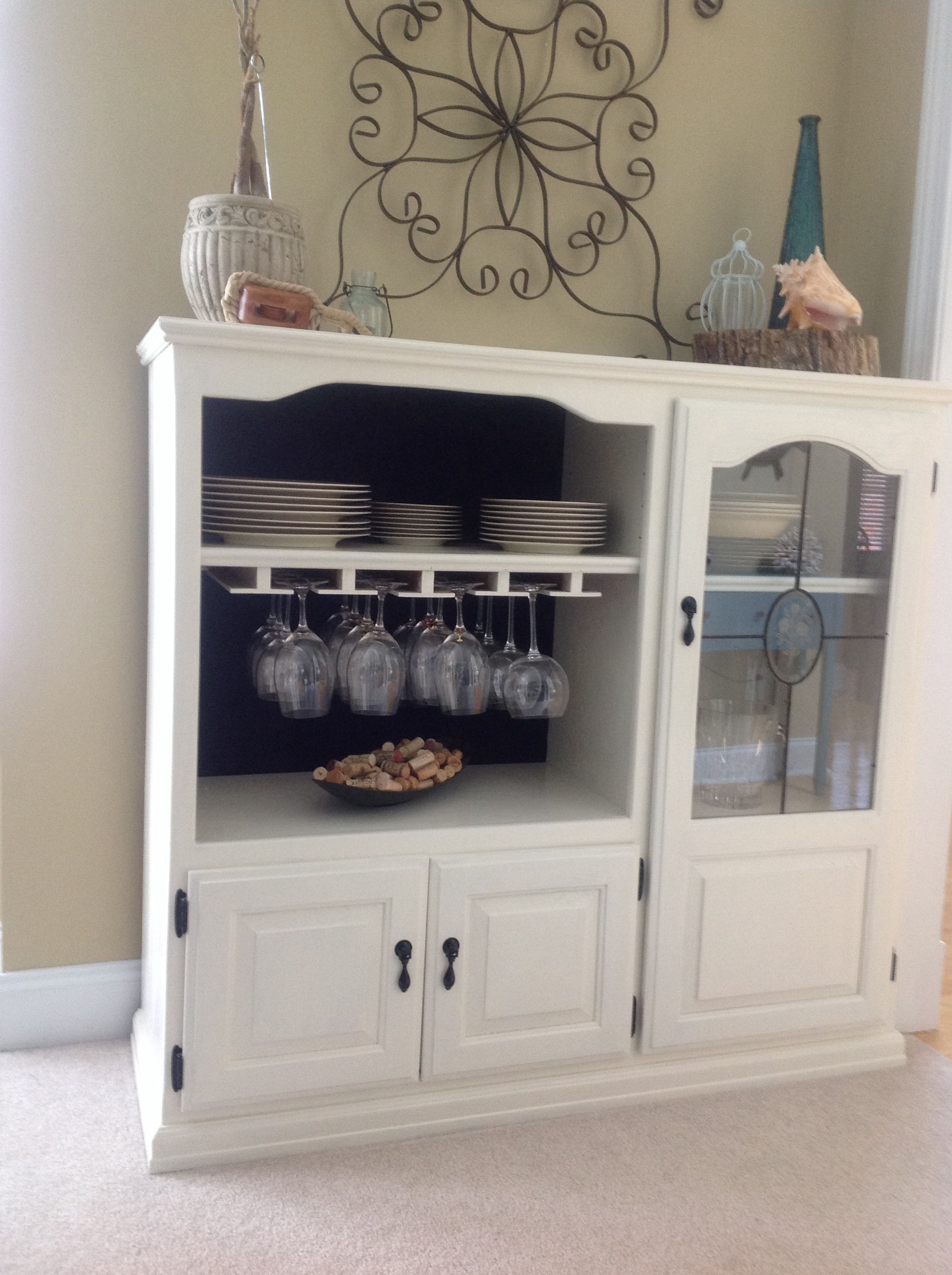 Well Known Repurpose An Old Tv Cabinet Into Something New (View 20 of 20)
