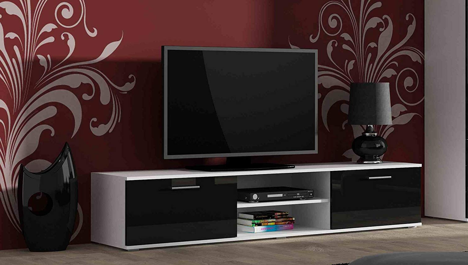 Well Known Right Deals Uk High Gloss Tv Cabinet Stand Entertainment Unit With Pertaining To Soho Tv Cabinets (View 18 of 20)
