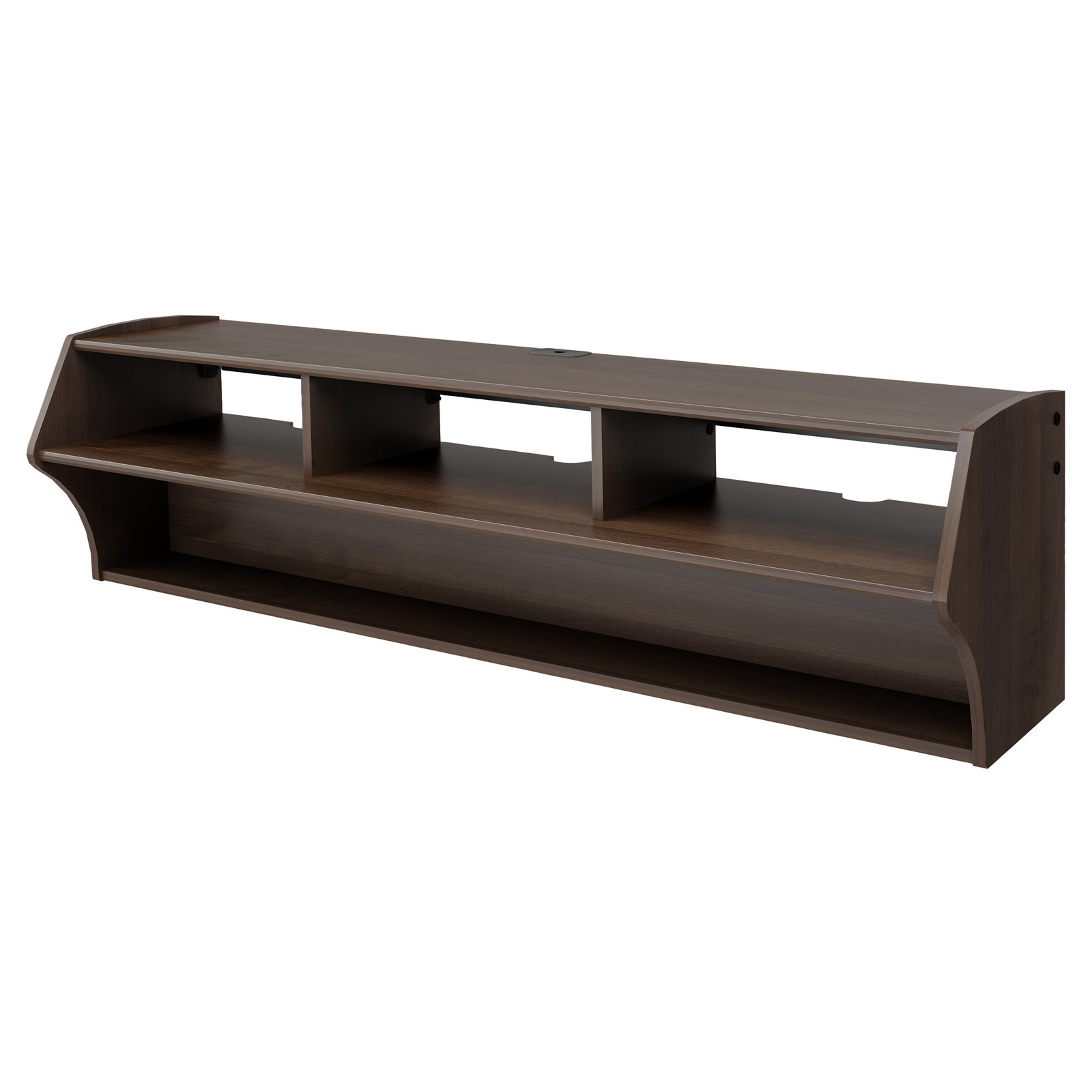 "Well Known Shelves For Tvs On The Wall Regarding Altus Plus Floating Tv Stand For Tvs Up To 60"" – Walmart (View 18 of 20)"