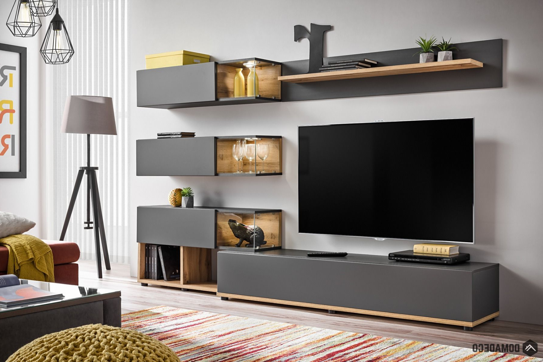 Well Known Simi – Modern Entertainment Center (View 13 of 20)