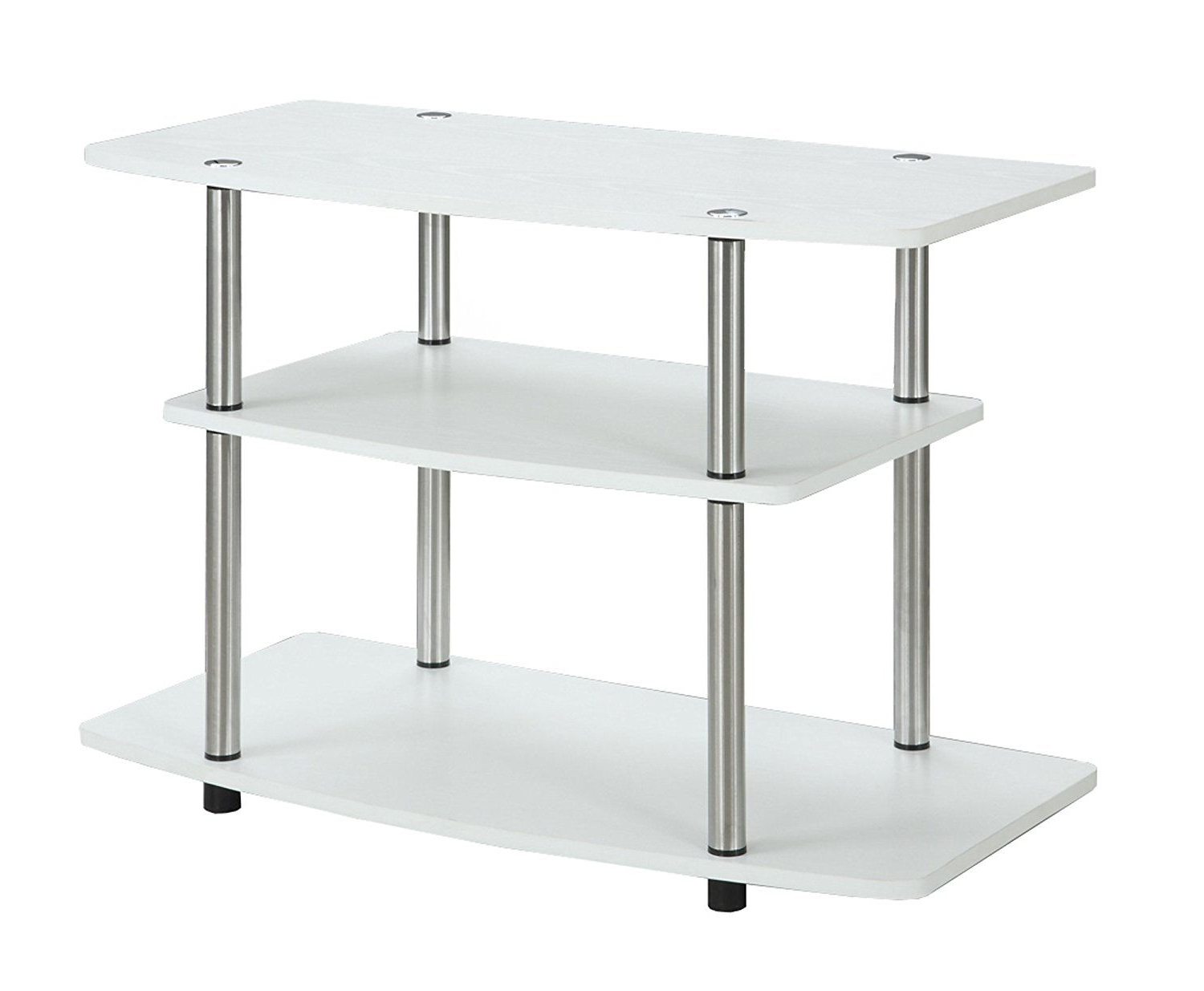 Well Known Small White Tv Stands Within 14 Best Small Tv Stands For (View 16 of 20)